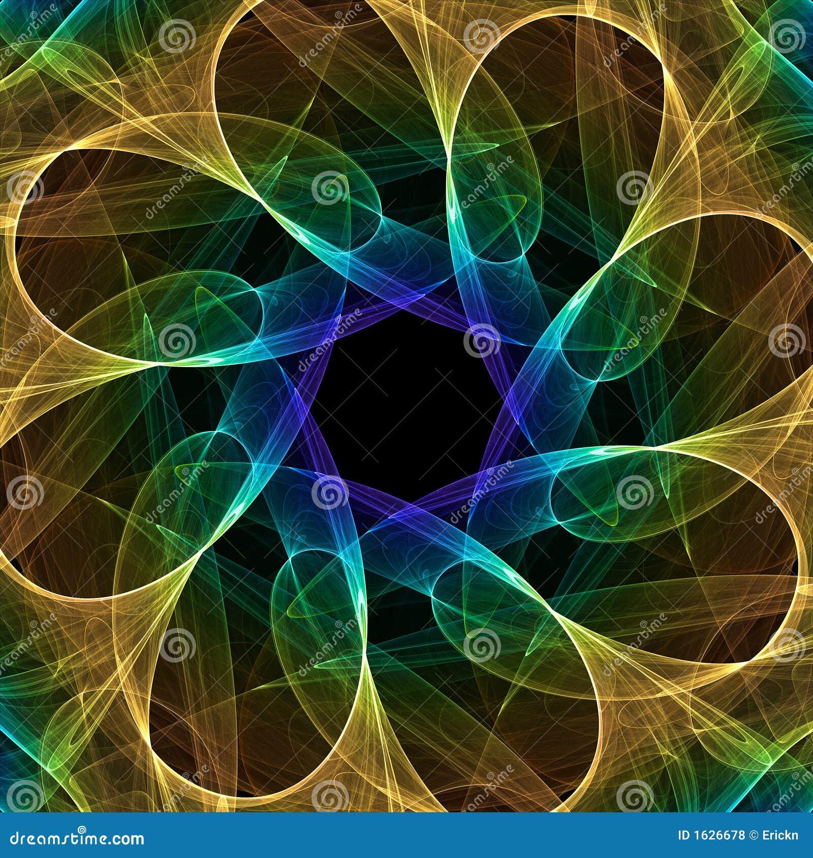 Caleidoscopio del fractal