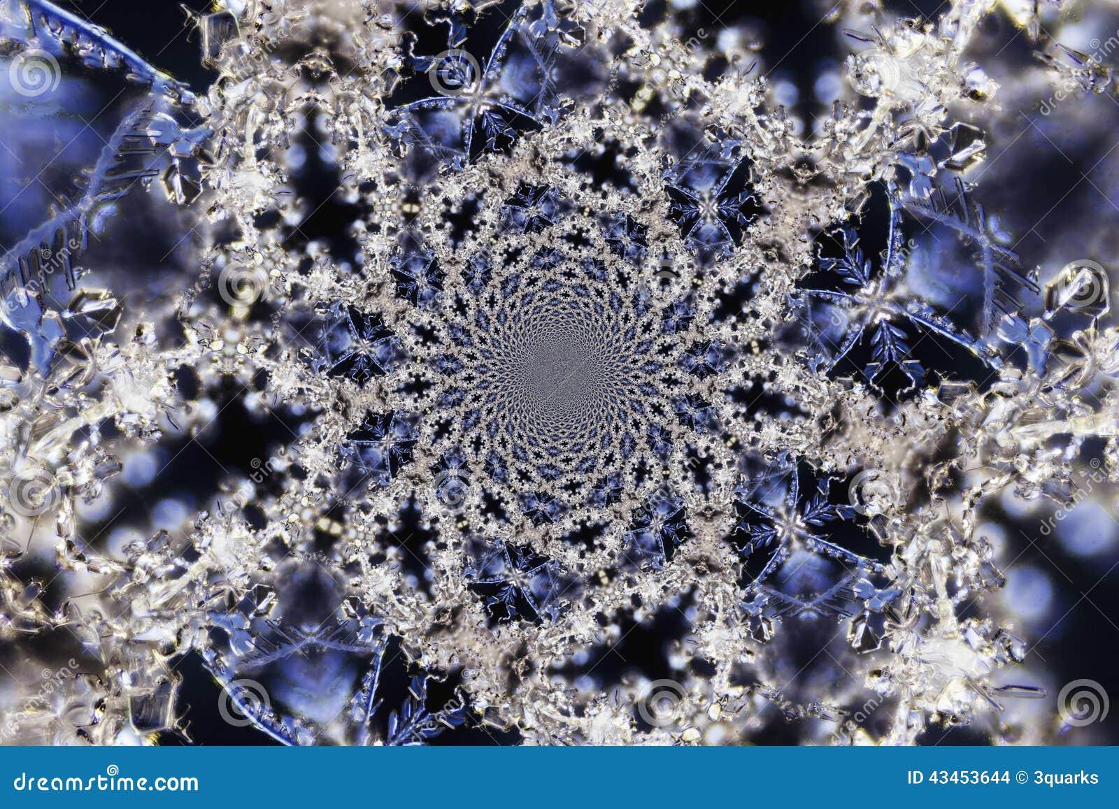 caleidoscopische microphoto van sneeuwkristallen stock foto afbeelding 43453644. Black Bedroom Furniture Sets. Home Design Ideas