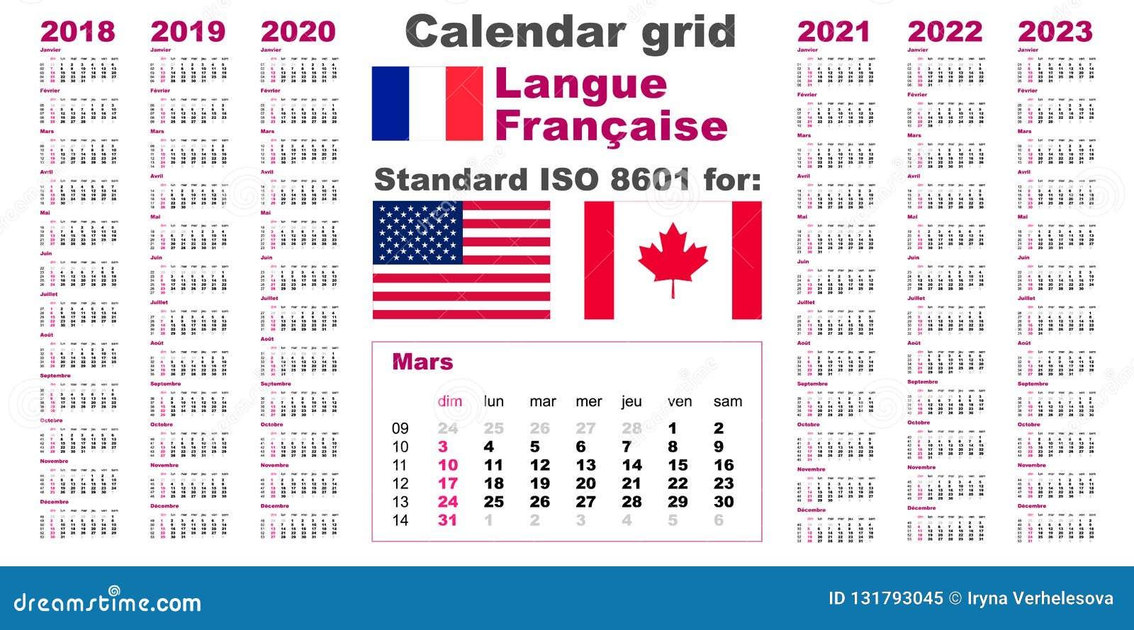 Calendario Frances.Calendario Frances 2020
