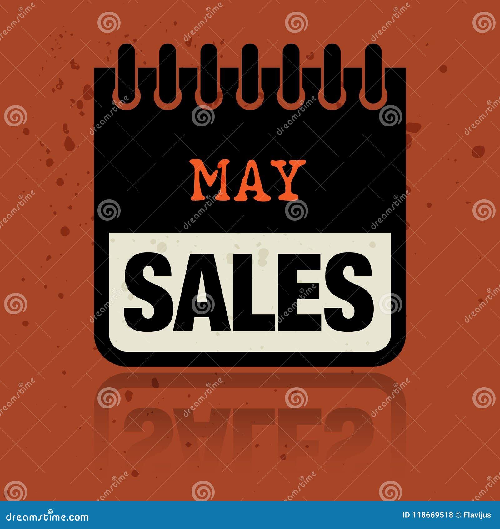 Calendar ярлык при продажи в мае слов написанные внутрь