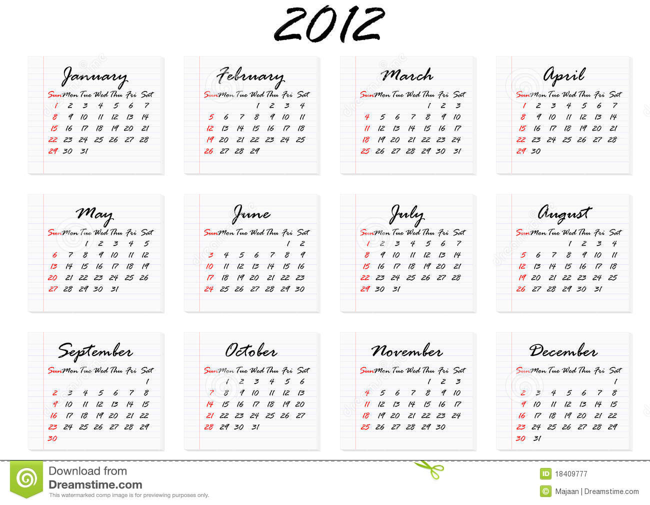 ENGLISH CALENDAR 2012 DOWNLOAD