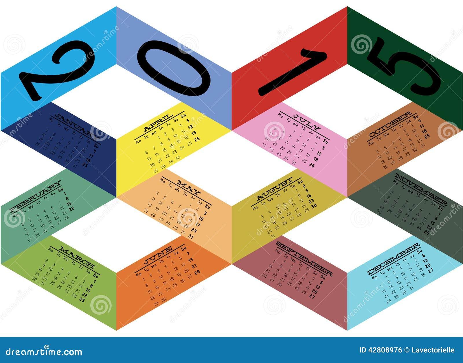 Calendar Ribbon Design : Calendar stock vector image