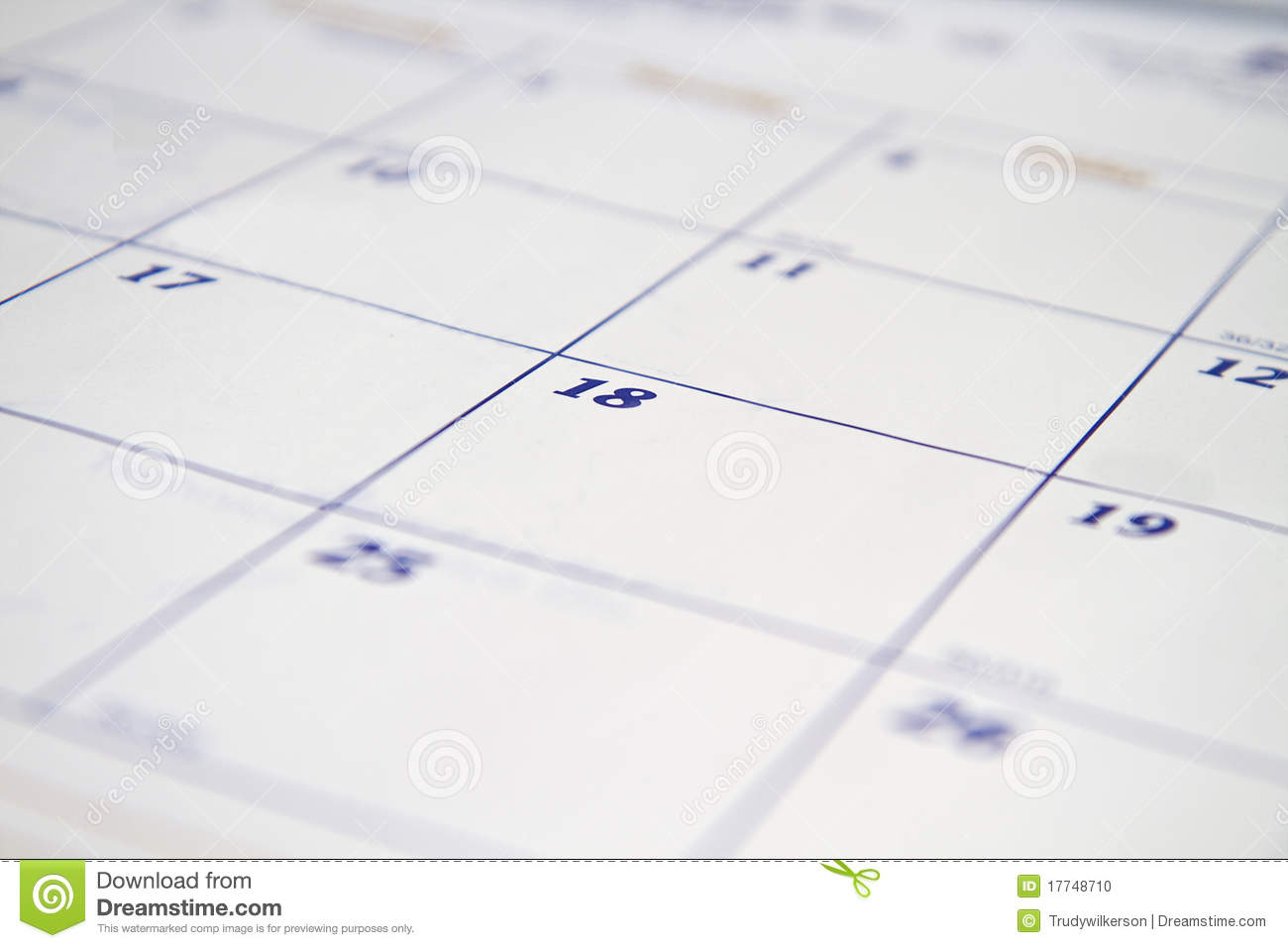 Calendar Background Stock Photo Image Of Blotter Desktop