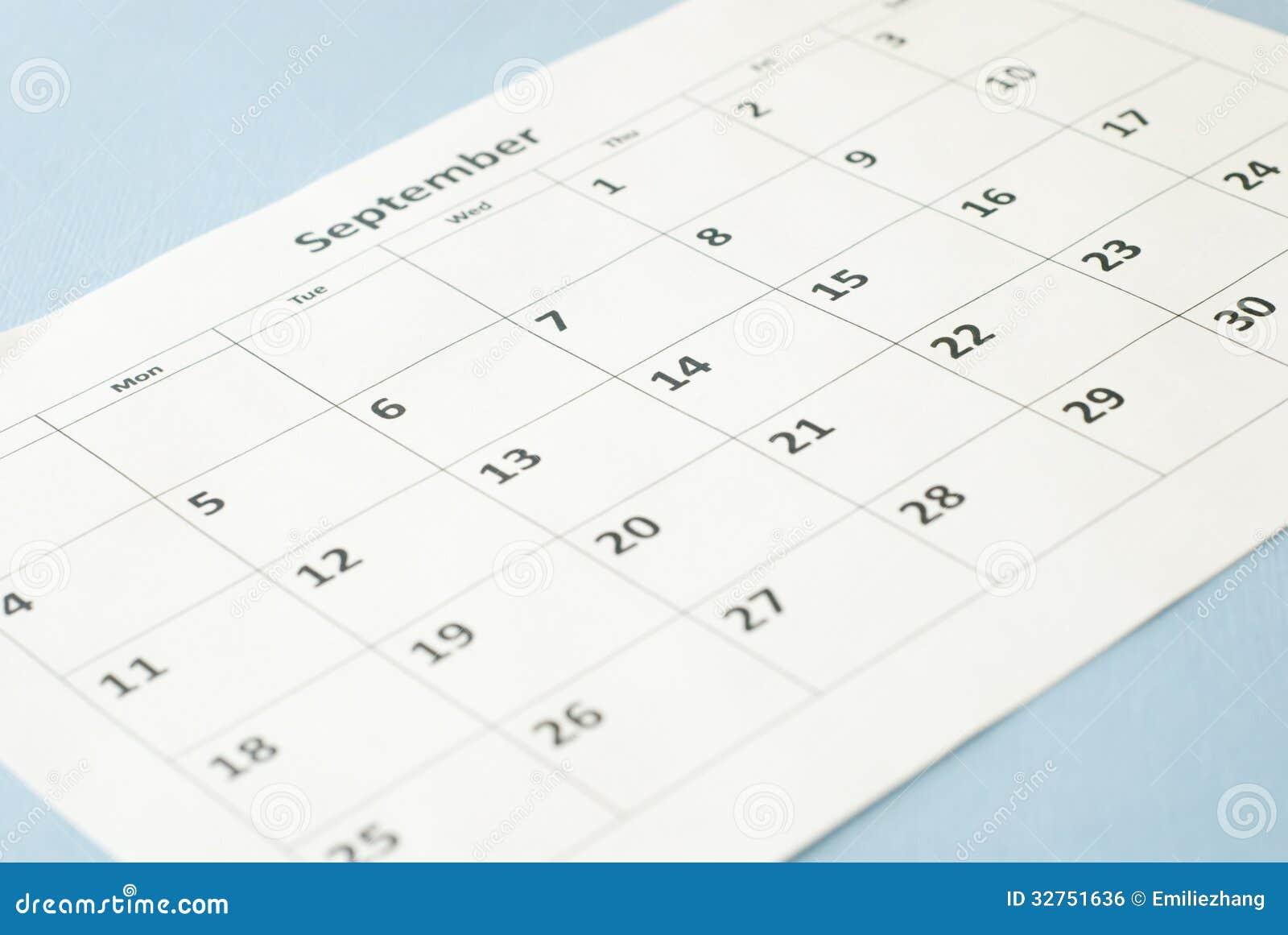 Calendar Background Images : Calendar stock photo image of white document background