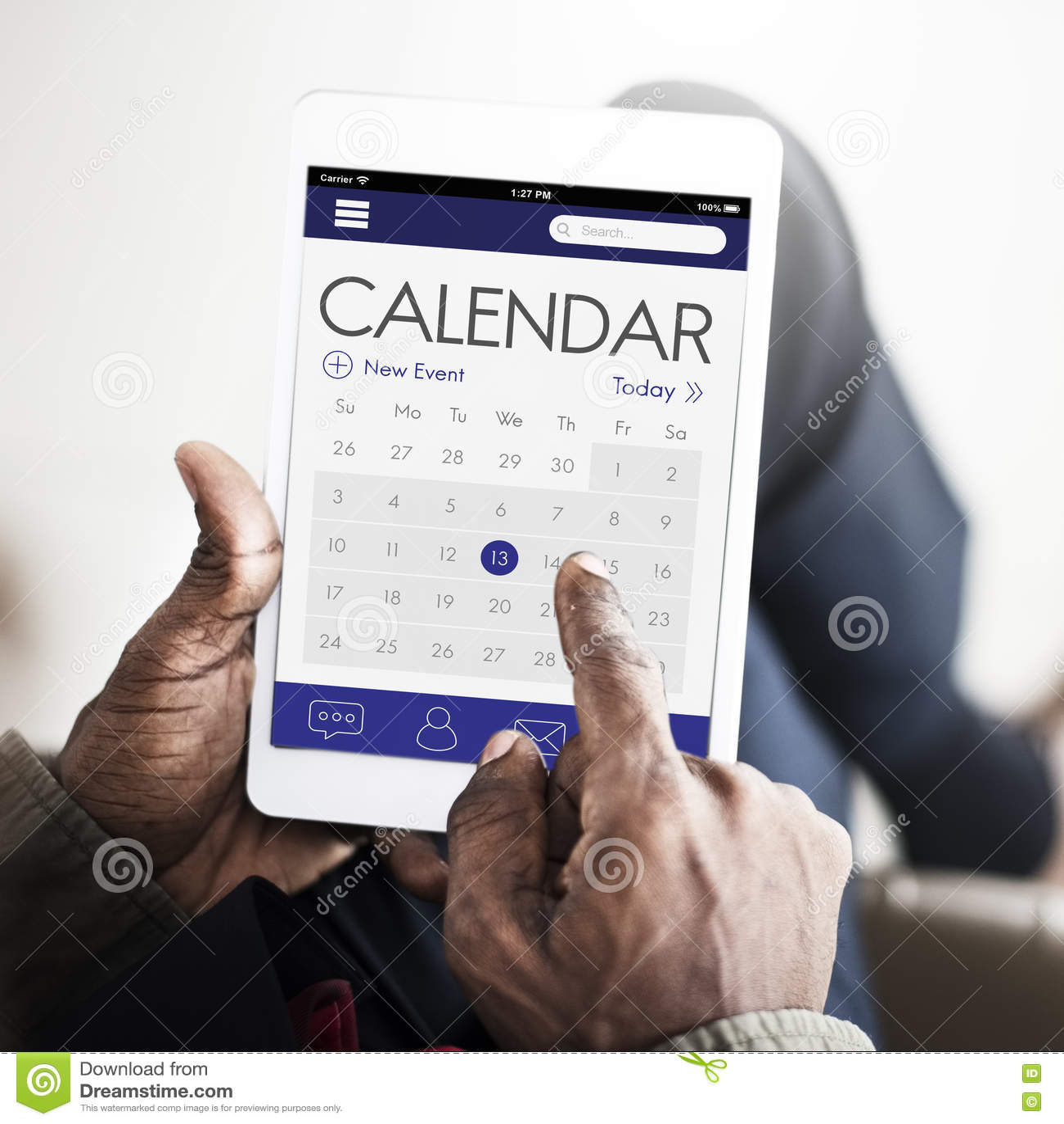 Calendar Date Organizer Planner Concept Stock Photo - Image: 81514723