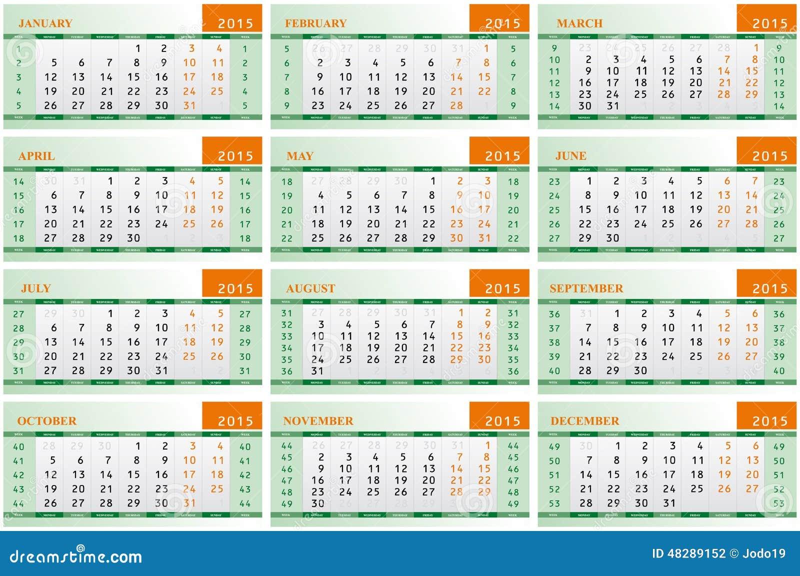 Calendar Picture Ideas For Each Month : Calendar for each month