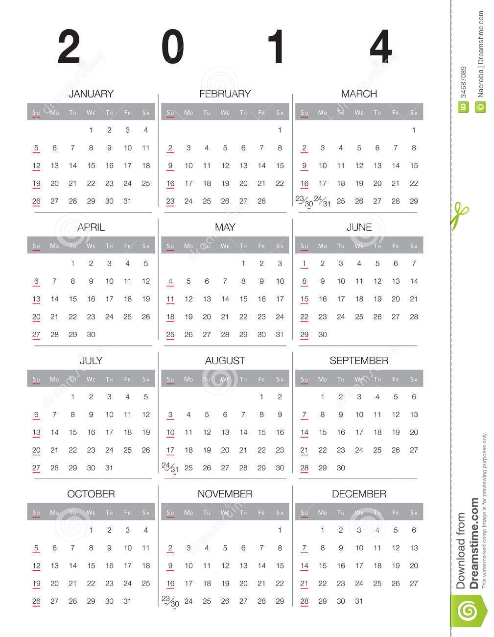 Calendar English : Calendar english royalty free stock images image