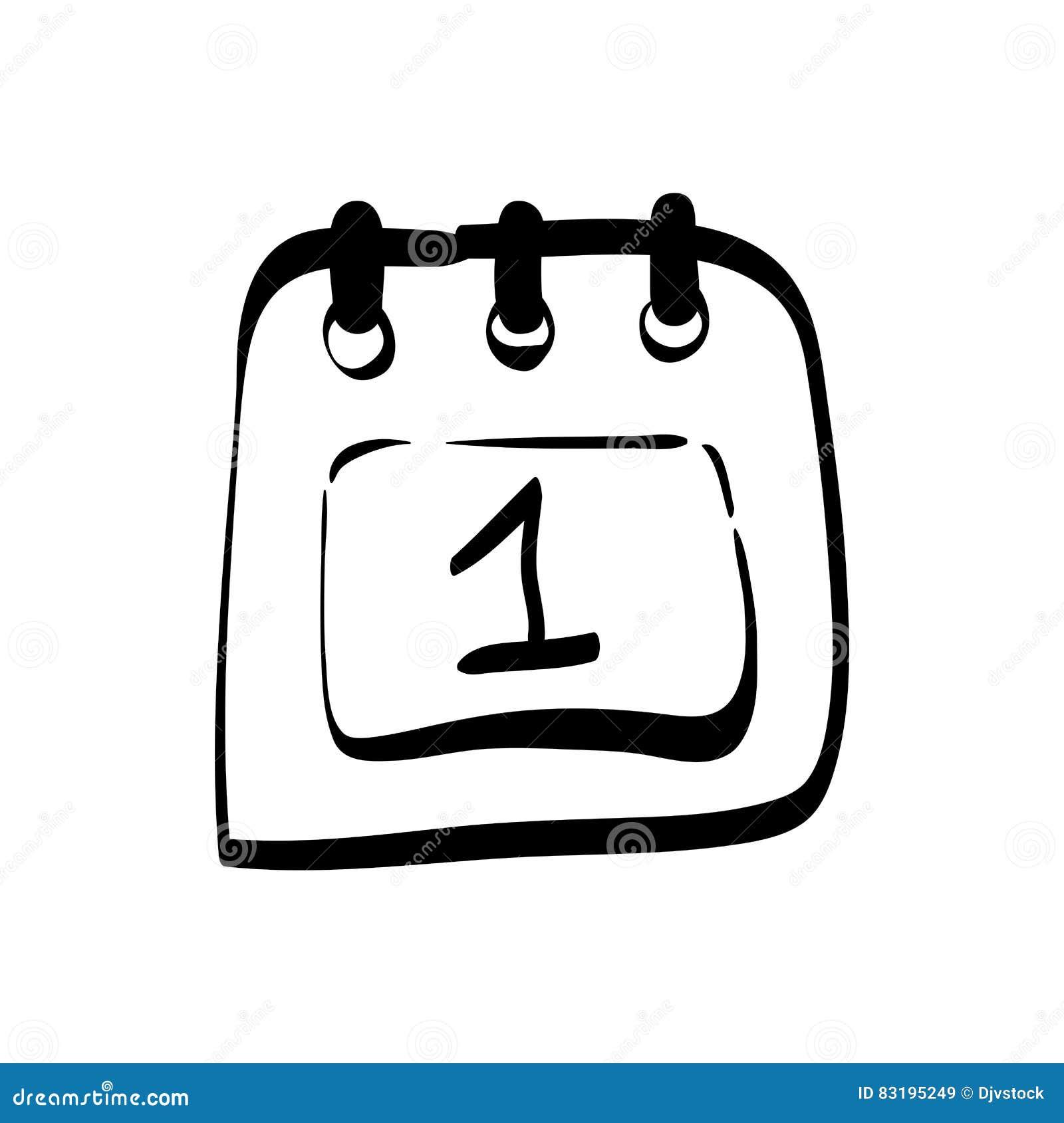 Event Calendar Illustration : Calendar event date stock illustration image