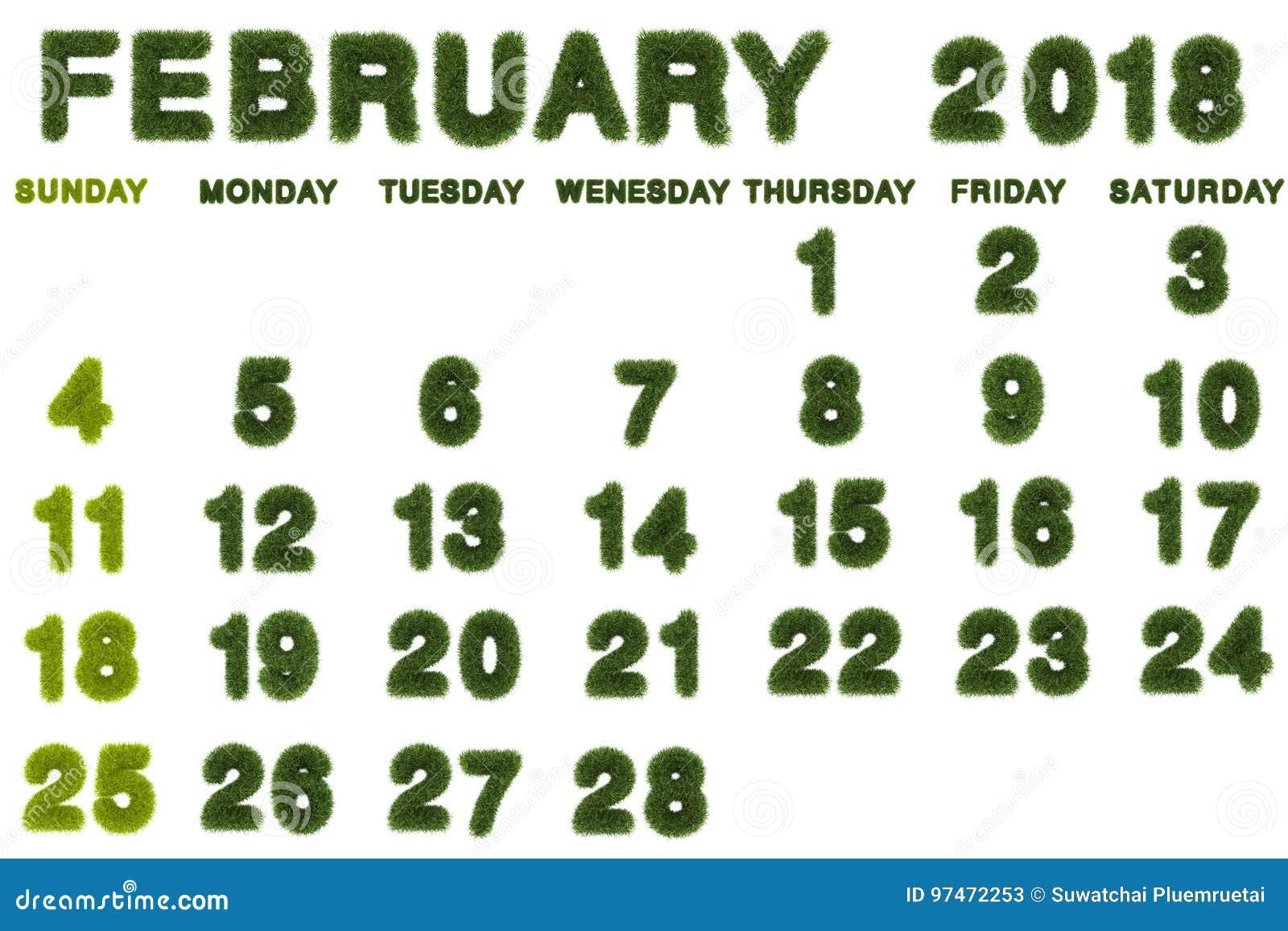calendar background february 2018 - Toreto.co