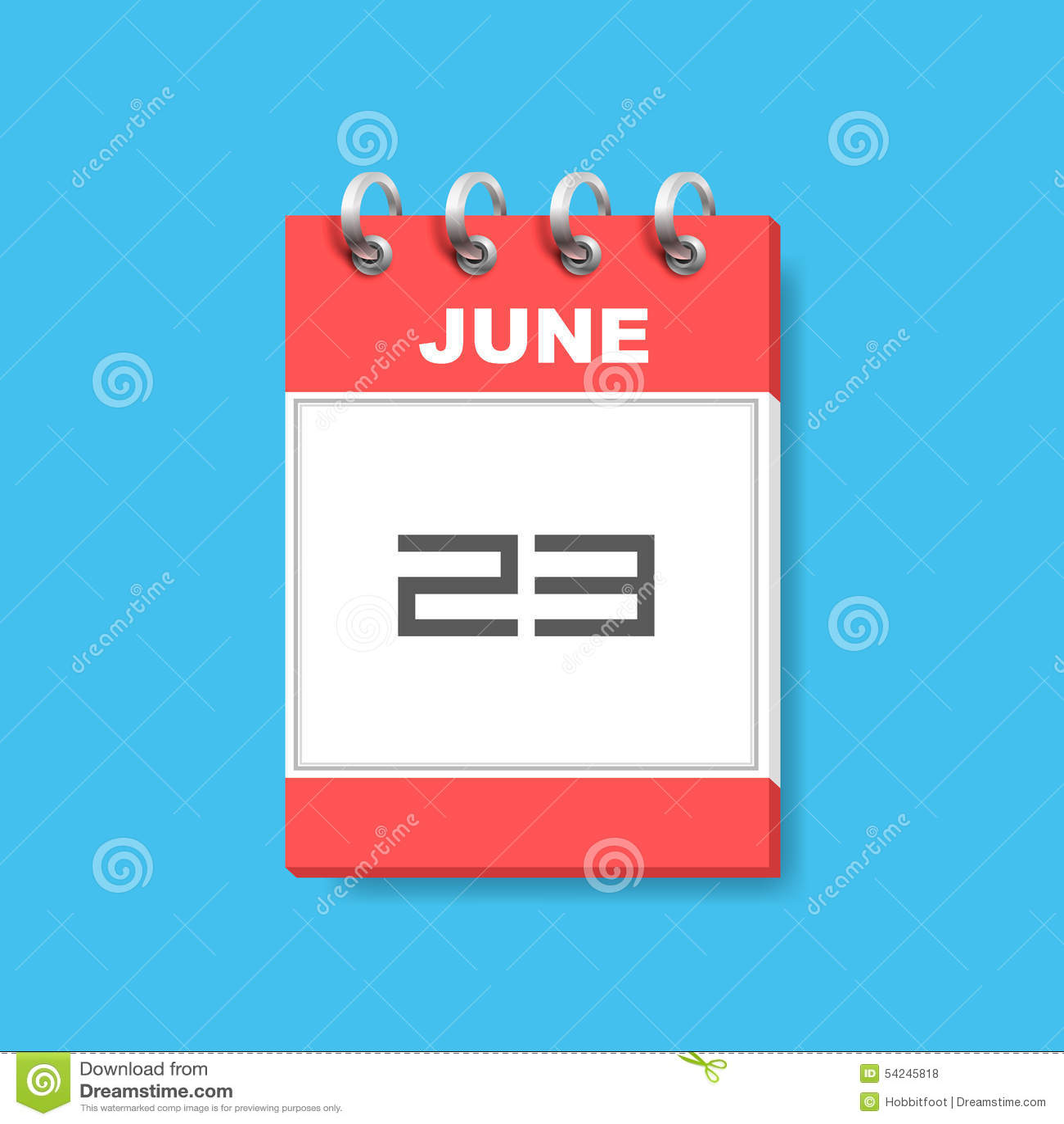 Calendar Flat Illustration : Calendar icon flat art stock vector image