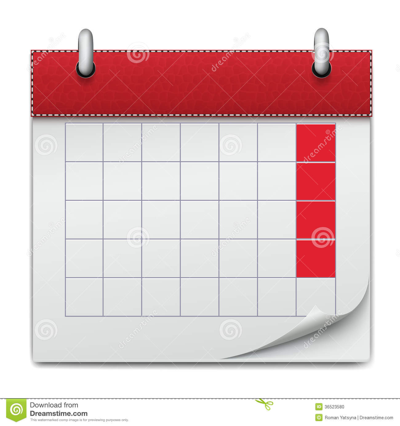 Calendar Illustration Yahoo : Calendar icon notebook business of planning conce stock