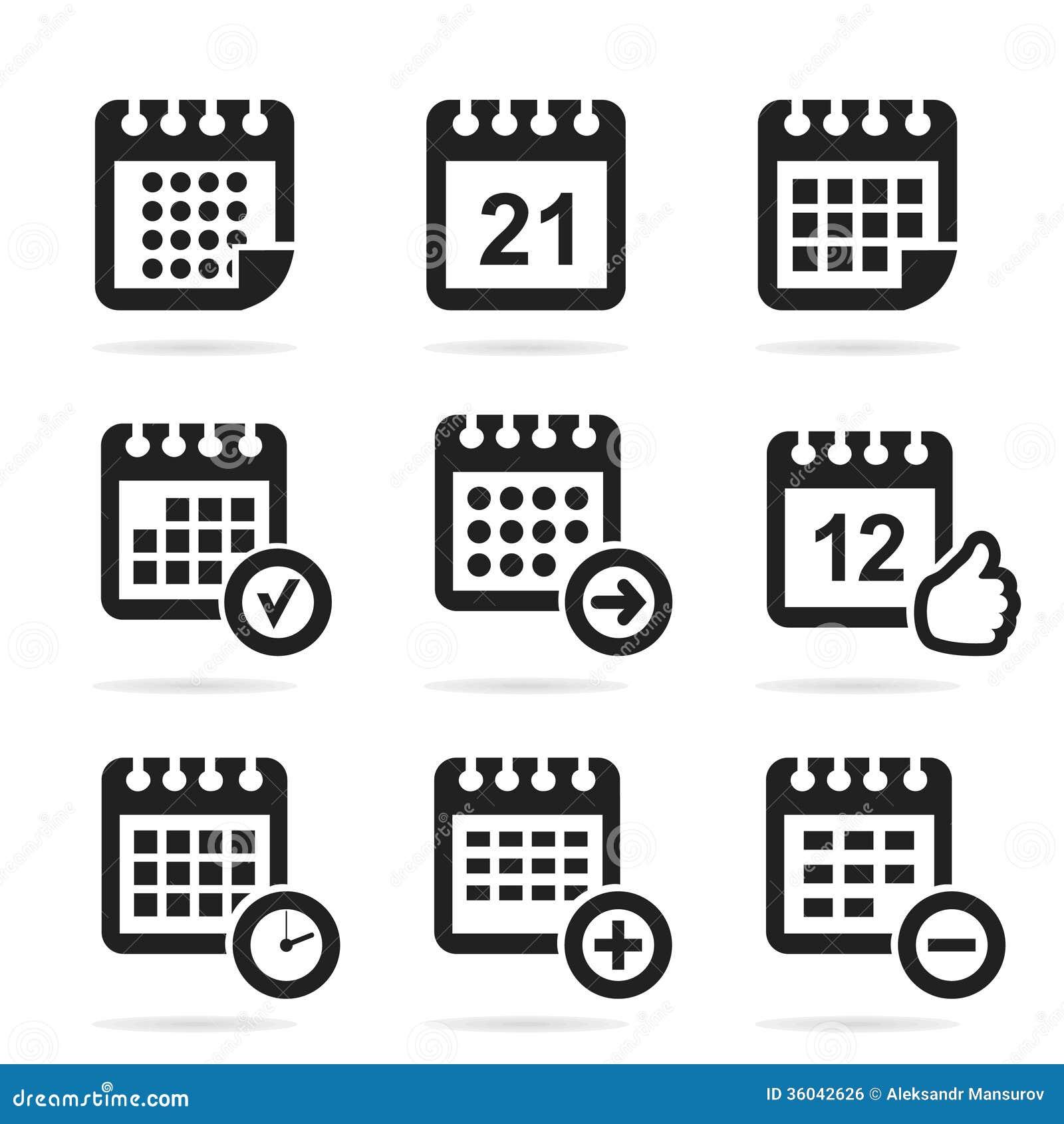 calendar-icon-set-icon...