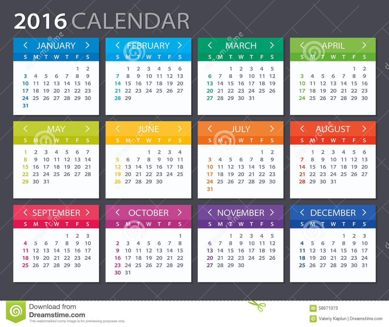 Calendar Illustrations : Calendar illustration stock vector image
