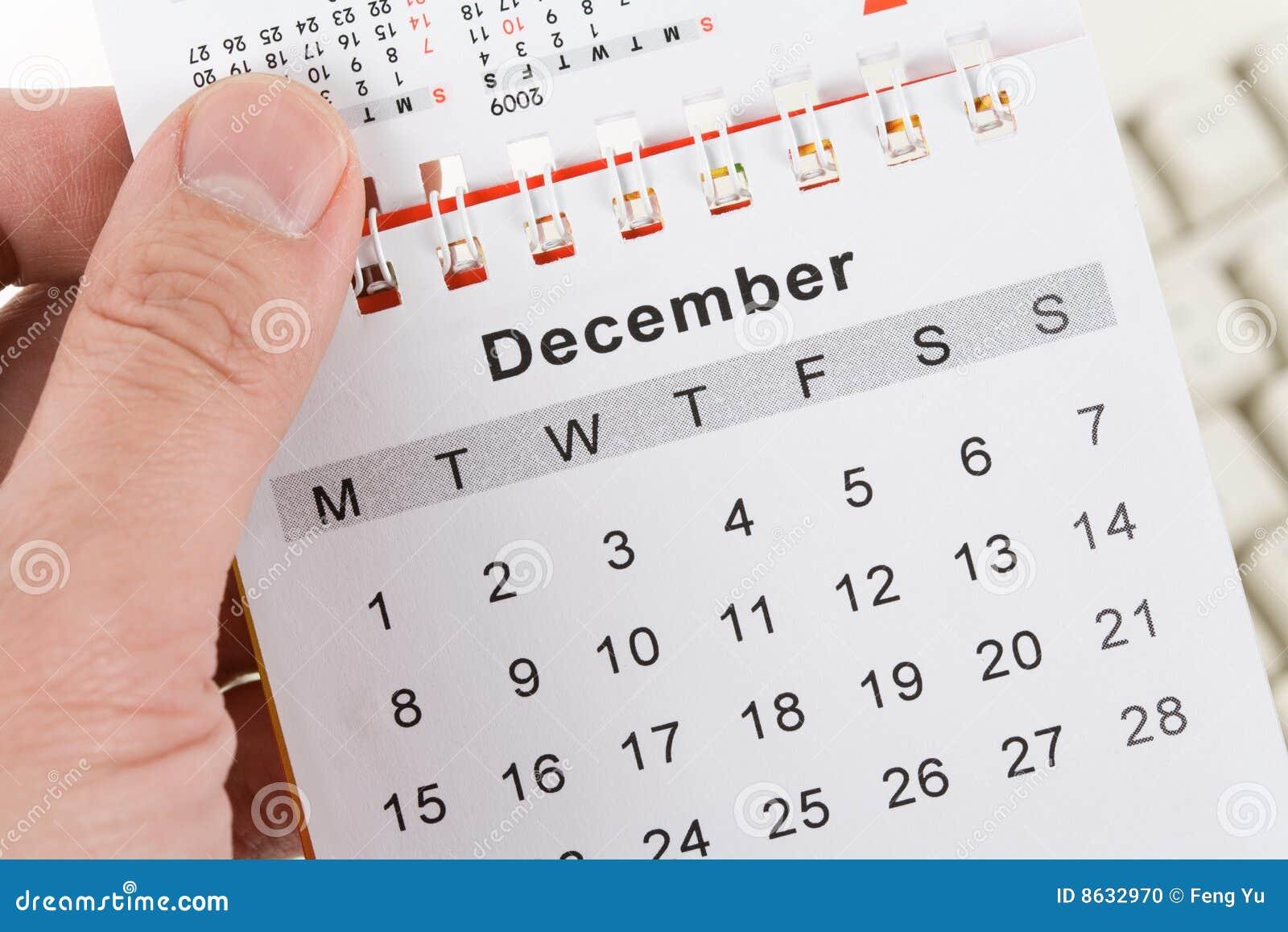 Calendar and Keyboard