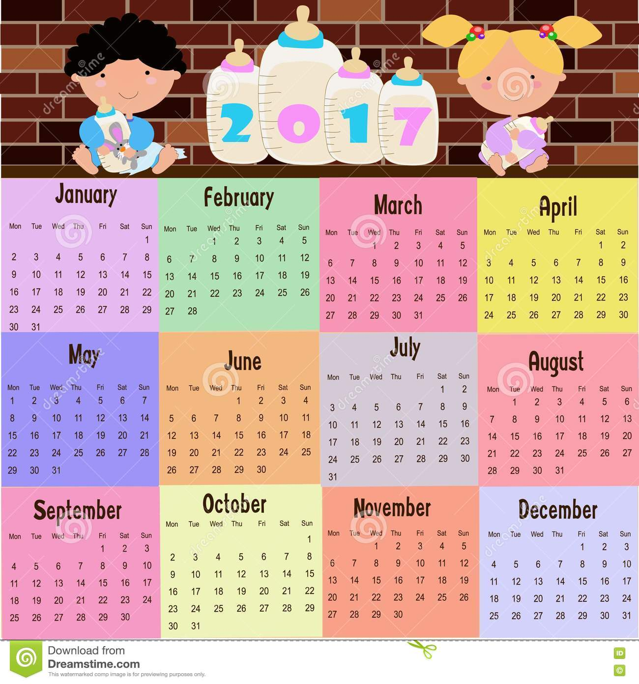 Calendar Pictures For Kids : Calendar clipart for kids imgkid the image kid