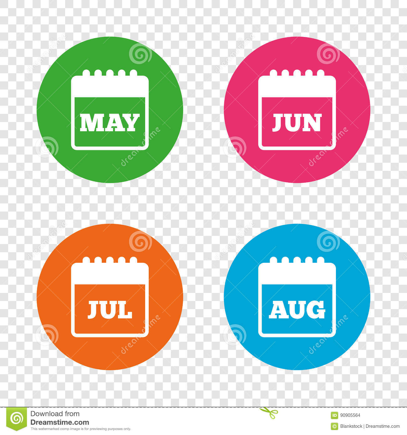 May Calendar Vector : Calendar may june july and august stock vector image