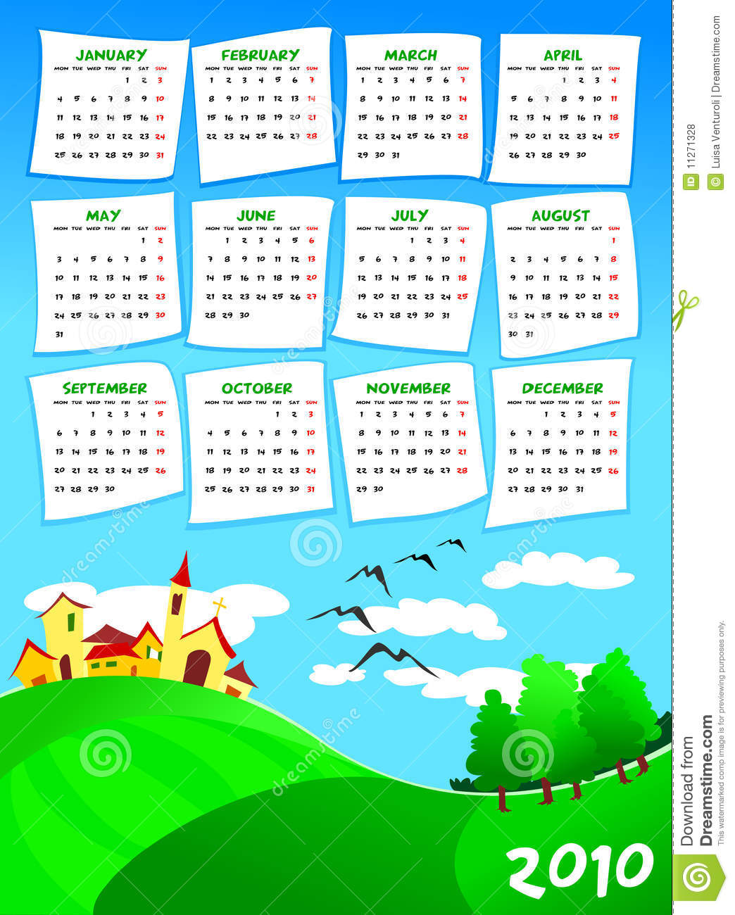 Next Year Calendar : Calendar of next year royalty free stock photos image