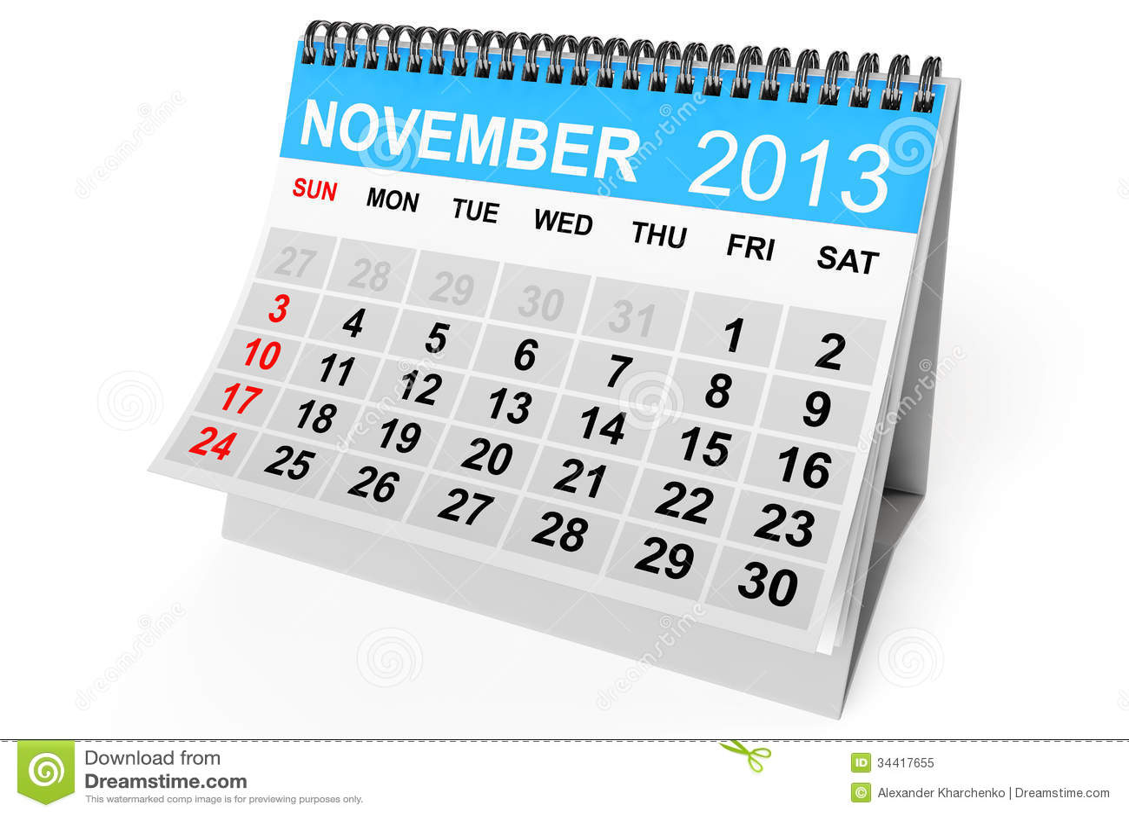 calendar november 2013 stock illustration illustration of date