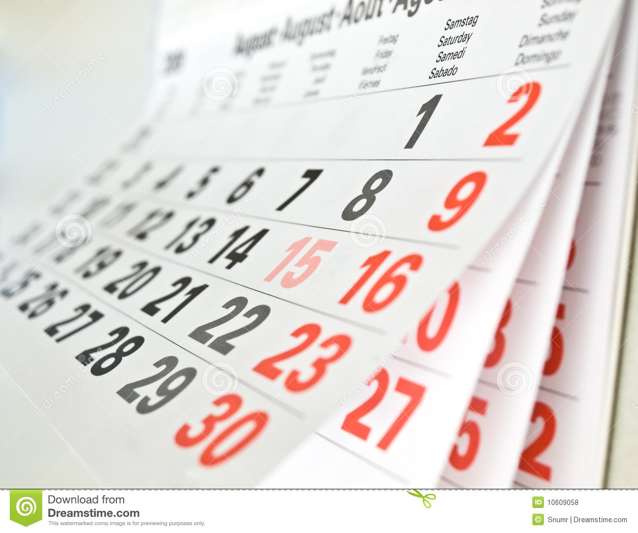 Calendar Page Royalty Free Stock Photos - Image: 10609058: www.dreamstime.com/royalty-free-stock-photos-calendar-page...