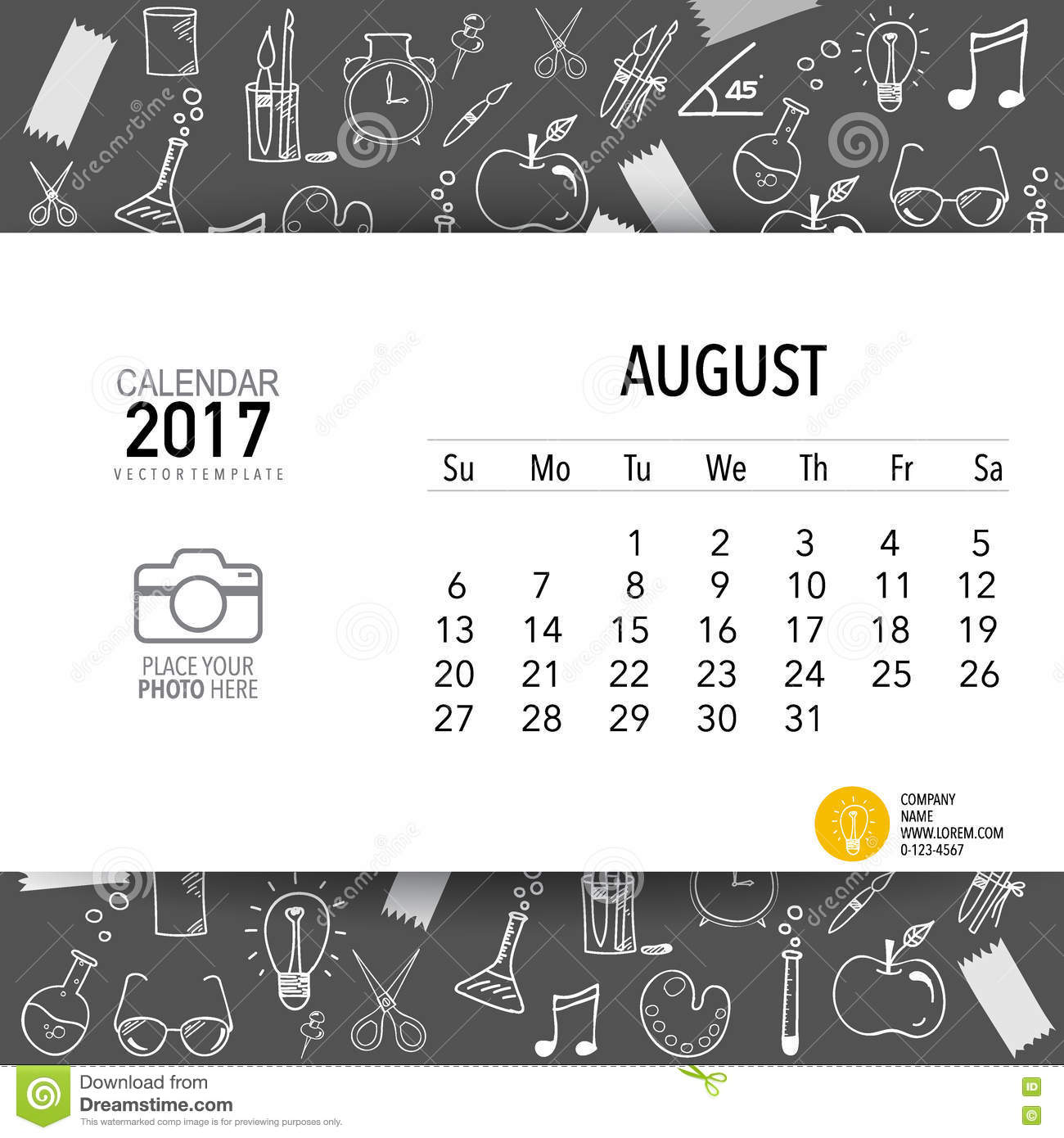 Quarterly Calendar Design : Monthly calendar template picture pictures