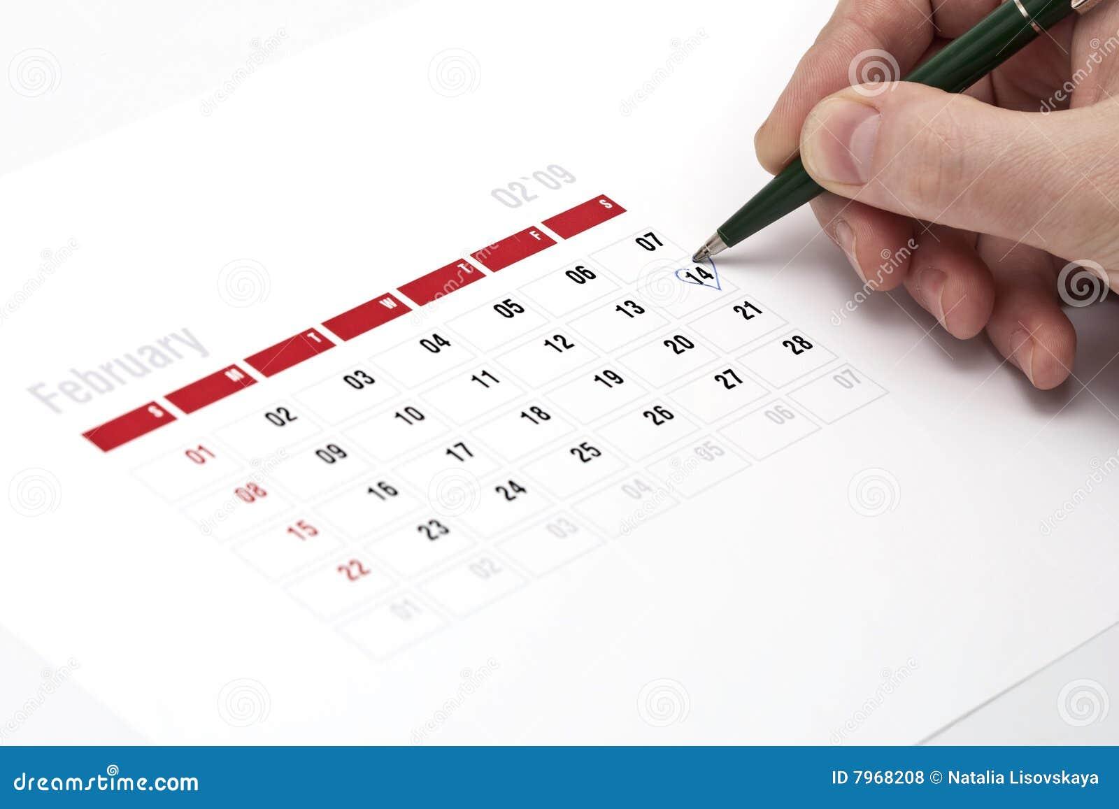 Calendar Wallpaper With Reminder : Calendar reminder stock photo image of dating