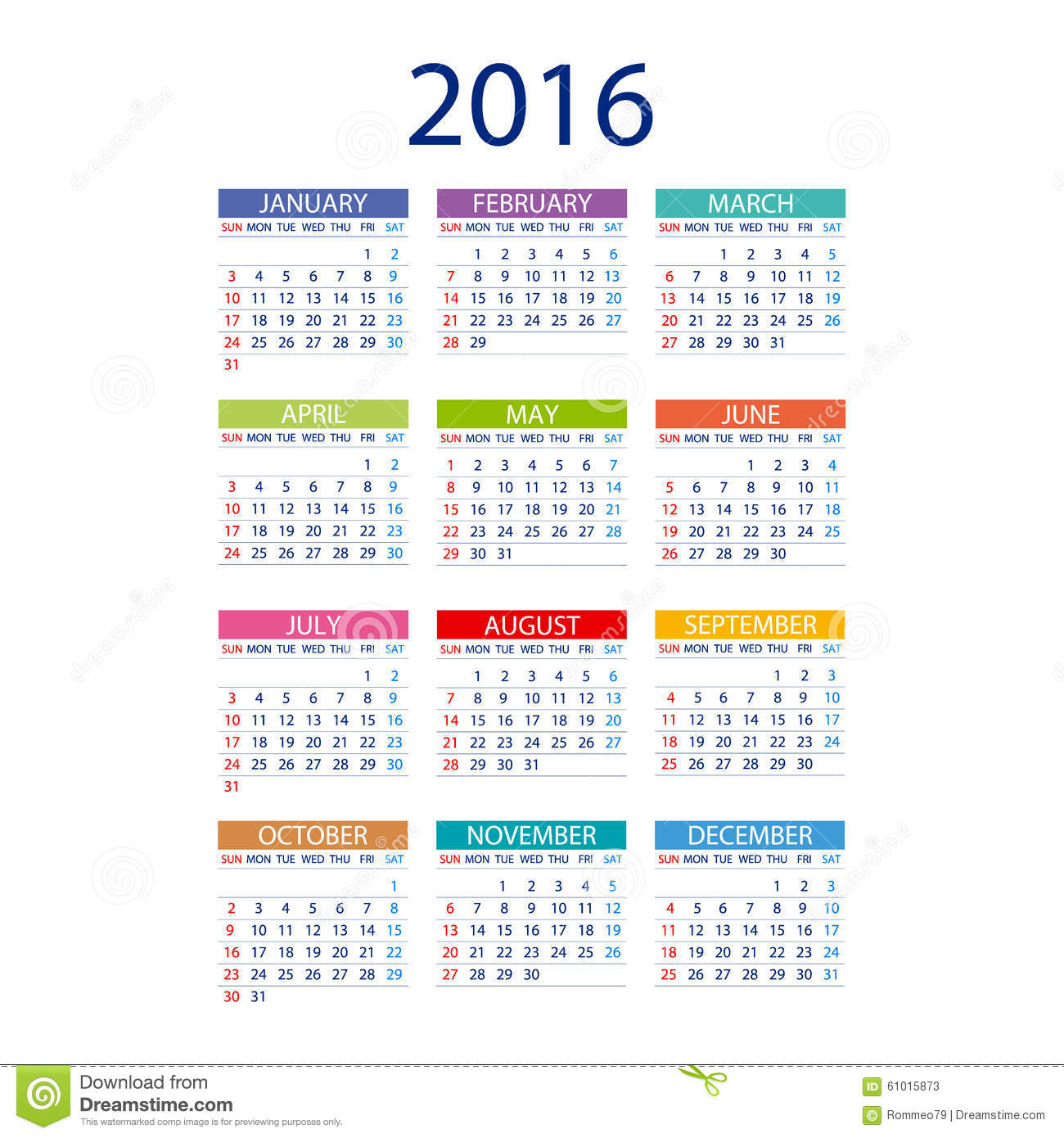 Calendar Design Date : Calendar simple design vector date template month
