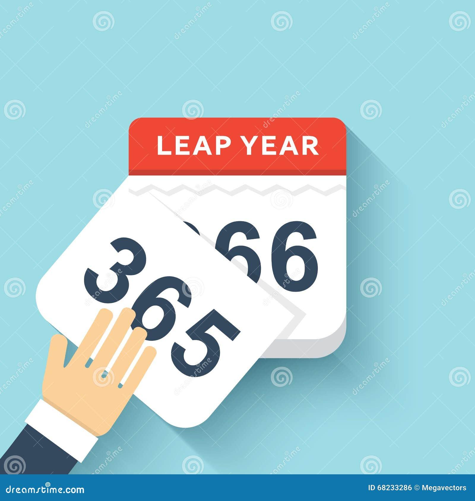 calendar style flat leap year 366 days calendars design 2016