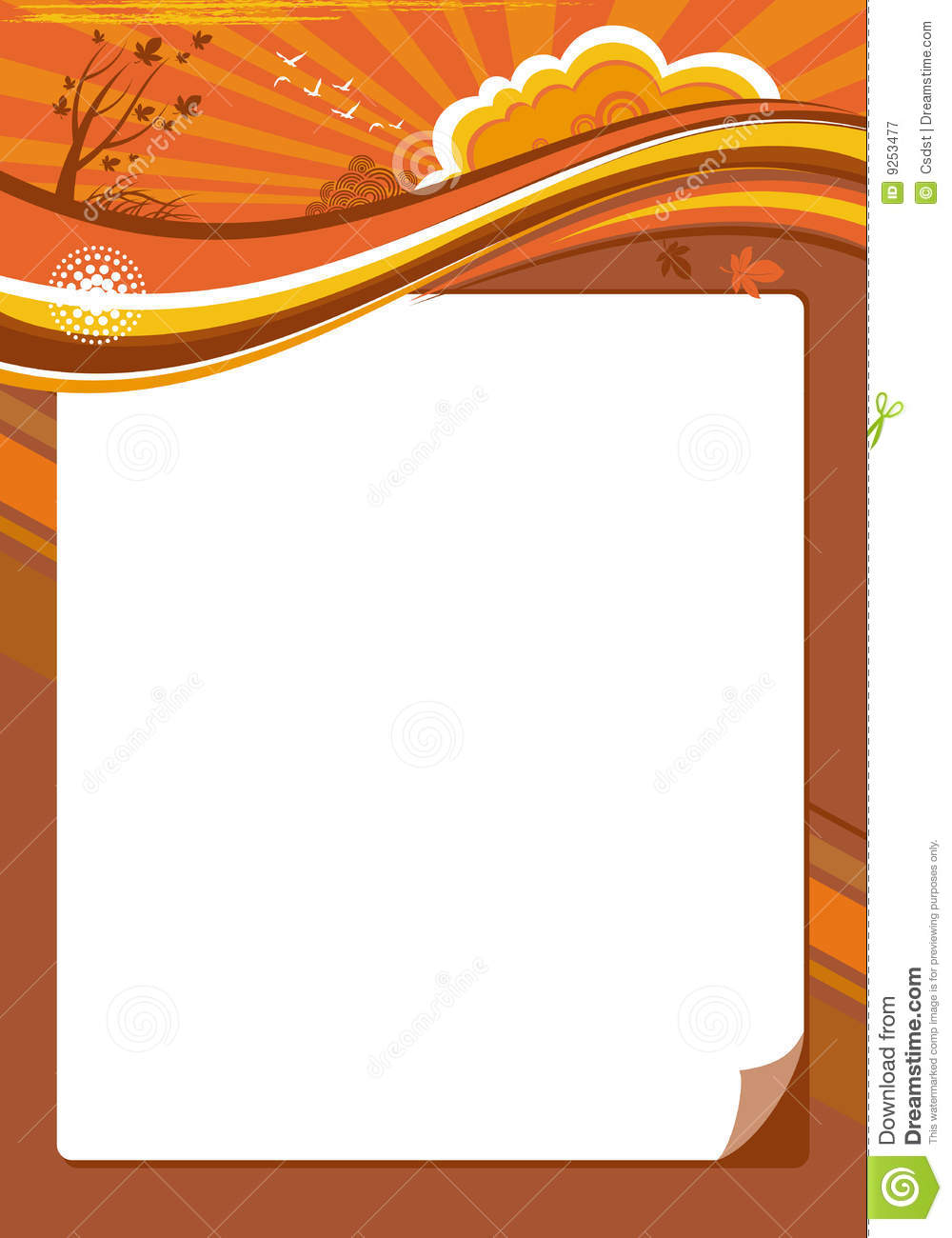 calendar template royalty free stock photography image