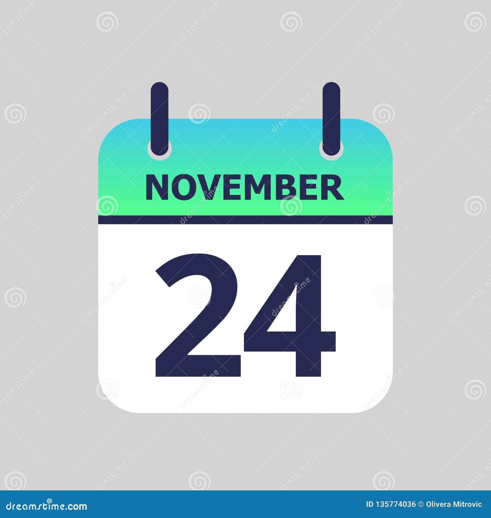 24 November