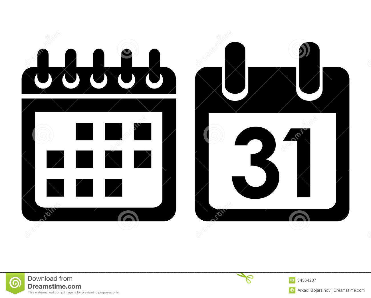 Calendar Vector Art : Calendar vector icon stock illustration of button