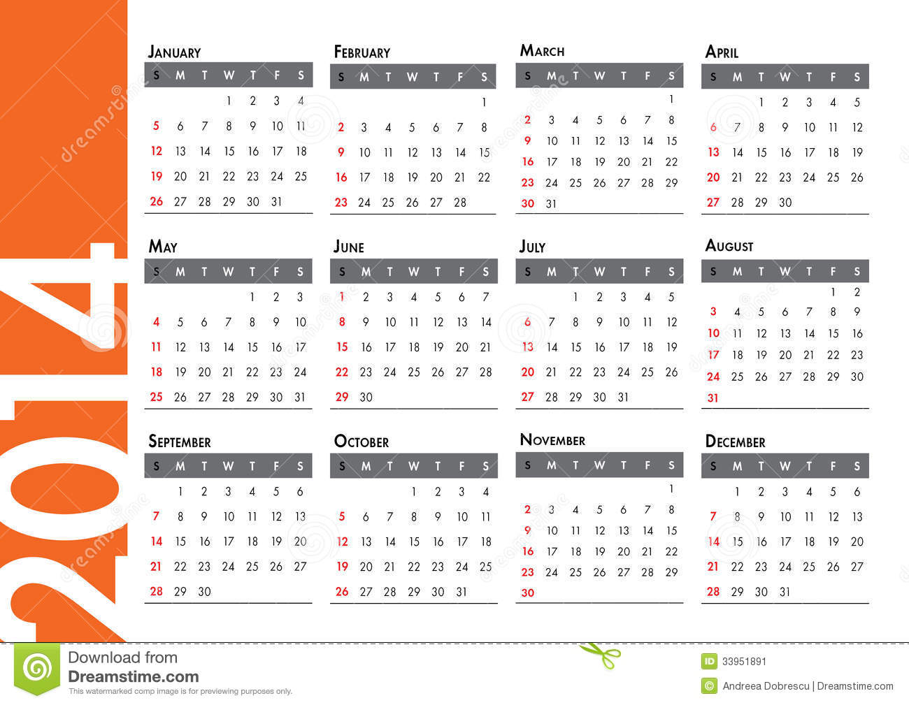 Xs Calendar April : Calendar stock image