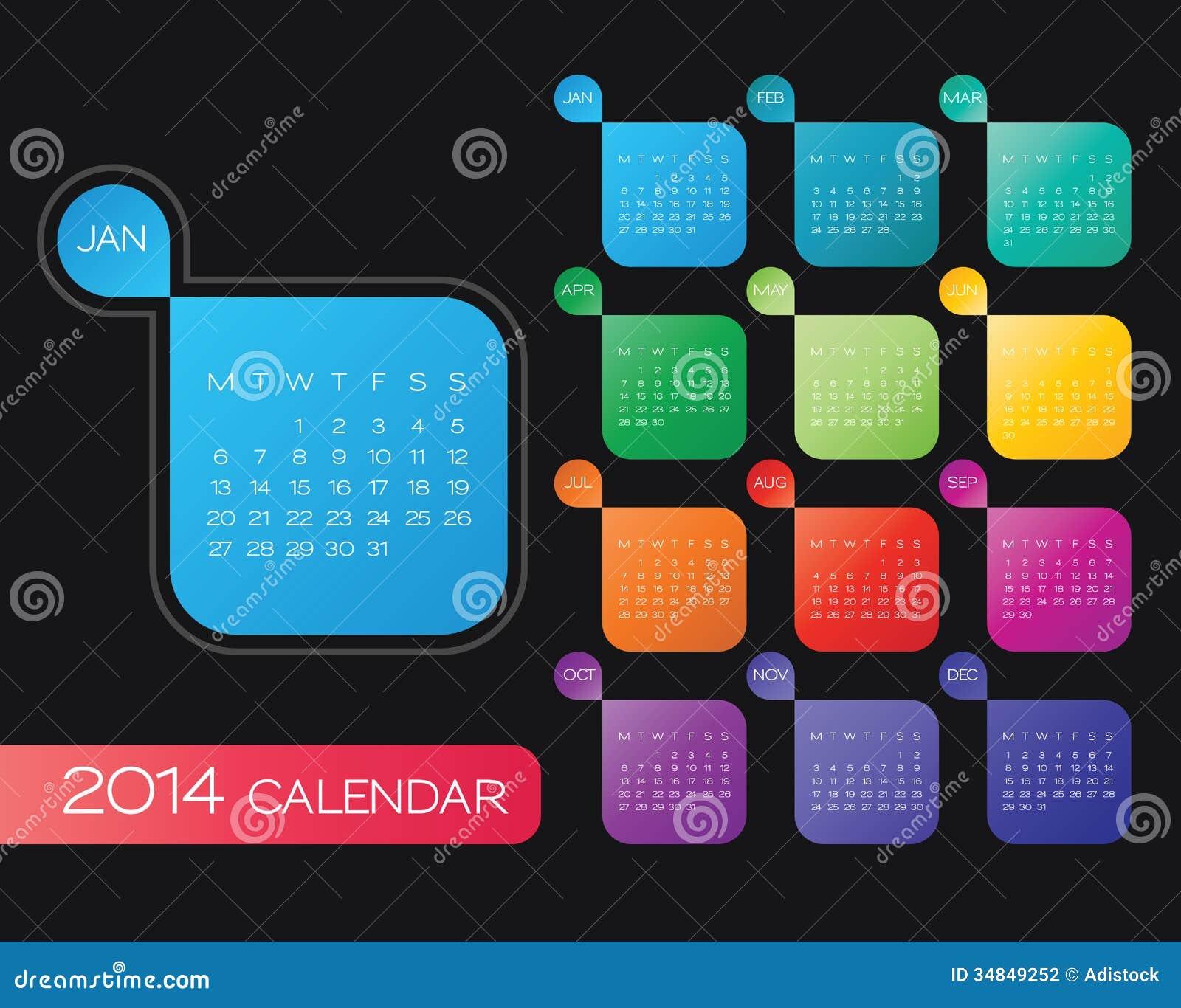Calendar Design Eps : Calendar vector stock photography image