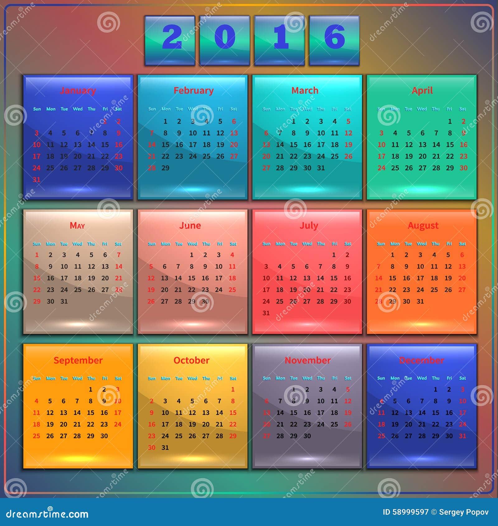 First Week Of 2016 In Calendar   Calendar Template 2016