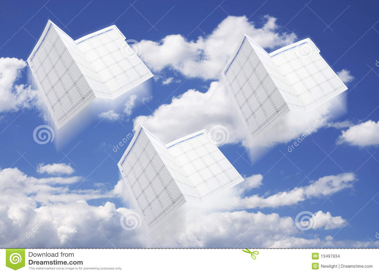 Calendari e cielo del pianificatore di giorno fotografia for Pianificatore di blueprint gratuito