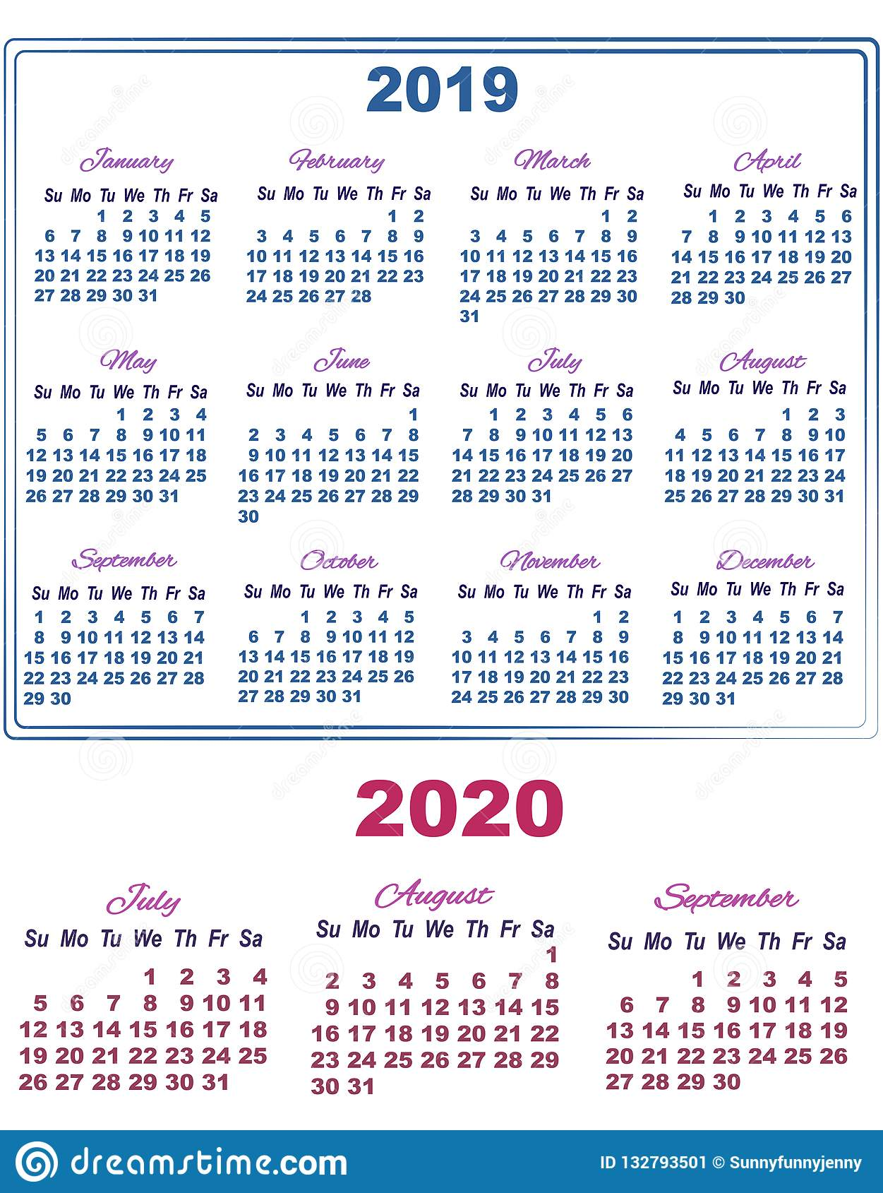 Calendario Luglio Agosto 2020.Calendario Luglio Agosto 2020 Calendario 2020