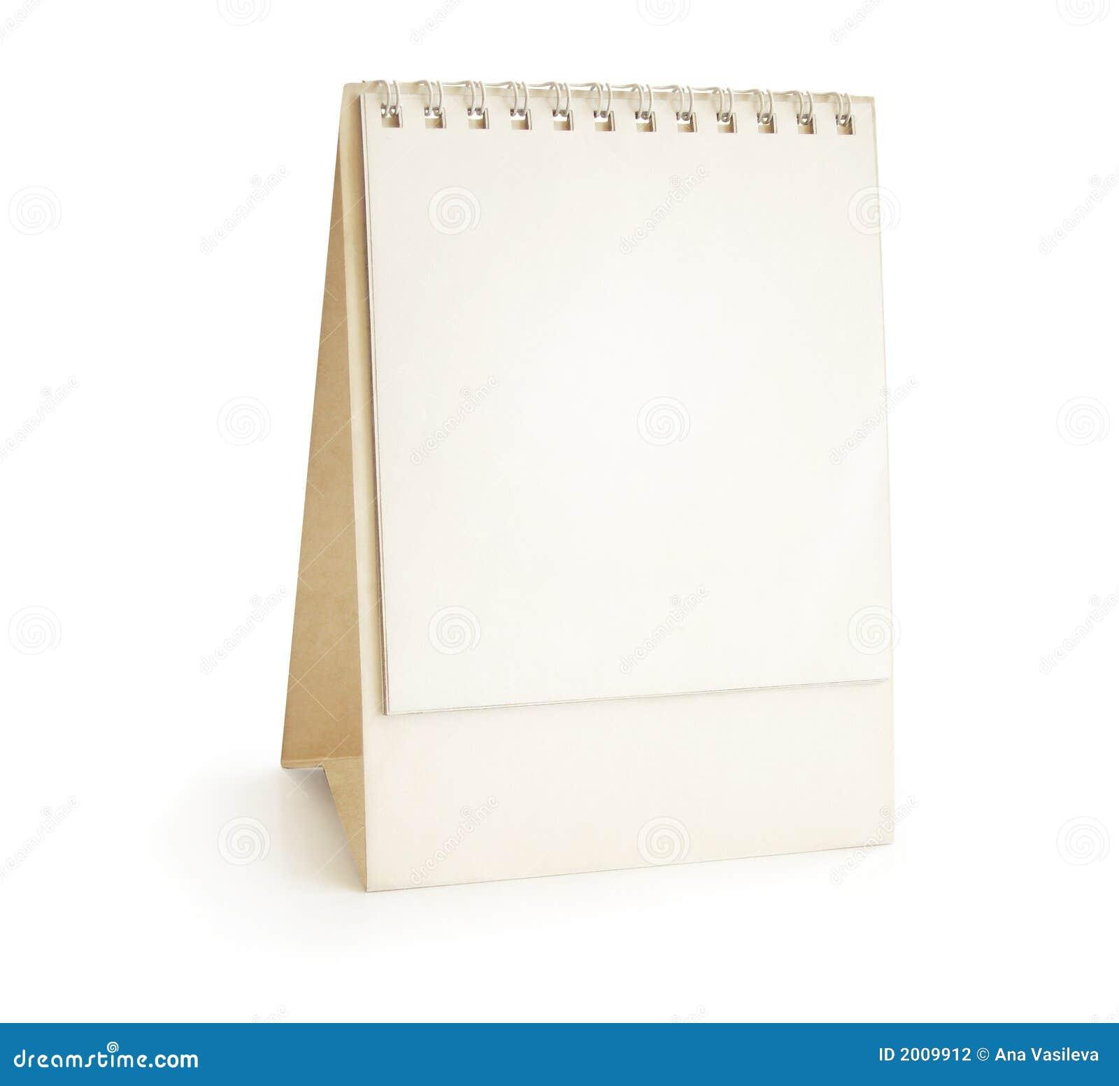 Calendario da tavolino - piramide