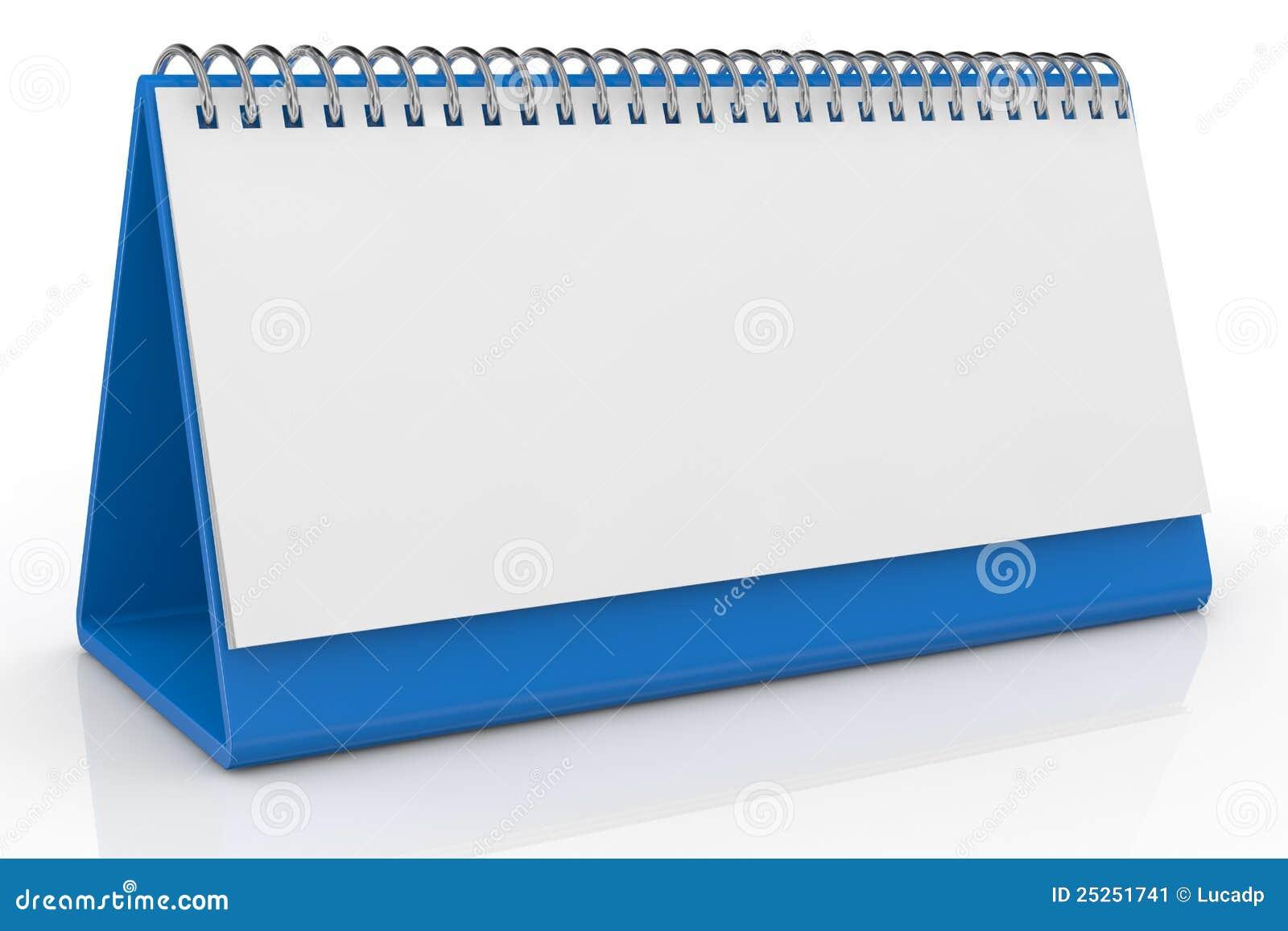 Calendario de escritorio imagen de archivo imagen 25251741 - Plantilla calendario de mesa ...