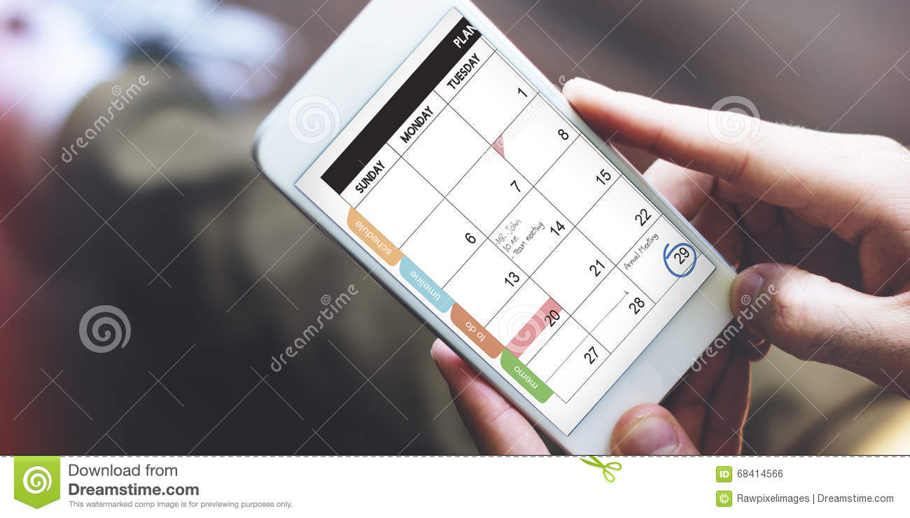 Calender Remind Communication Data Information Concept