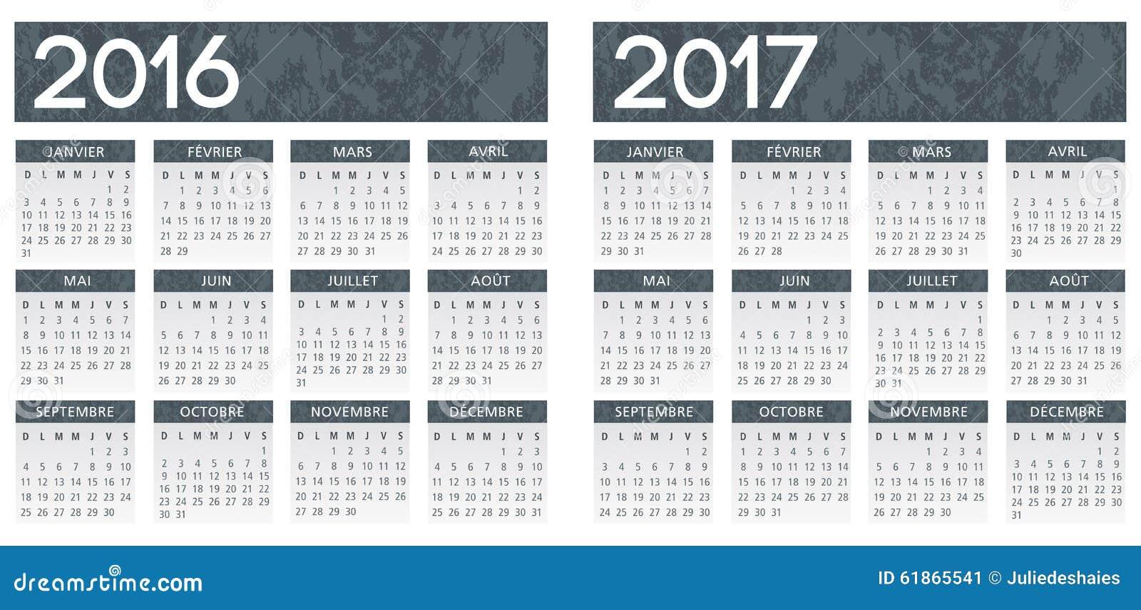 quarterly calendar printable