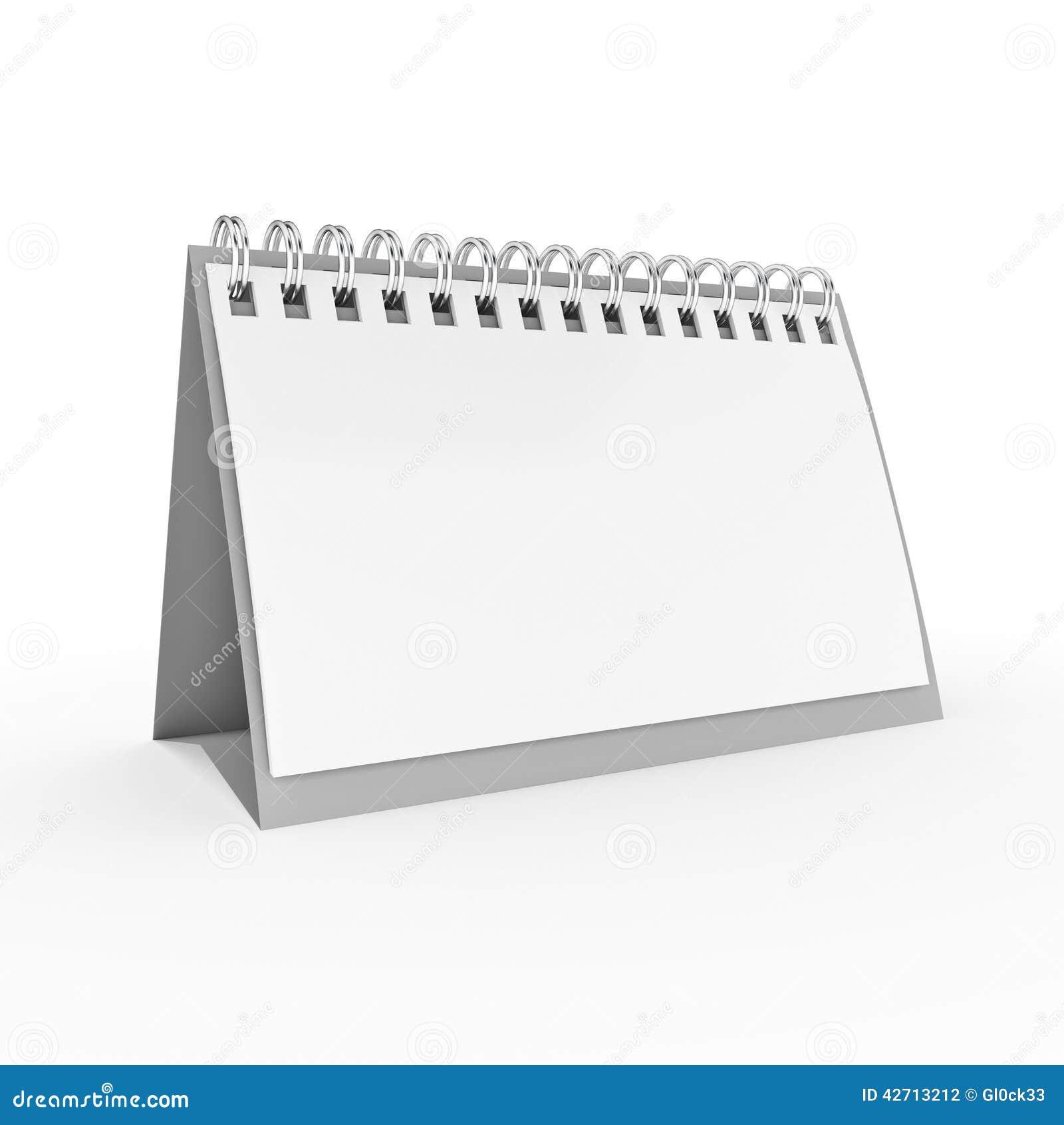 Calend rio de mesa ilustra o stock imagem 42713212 - Calendario de mesa ...