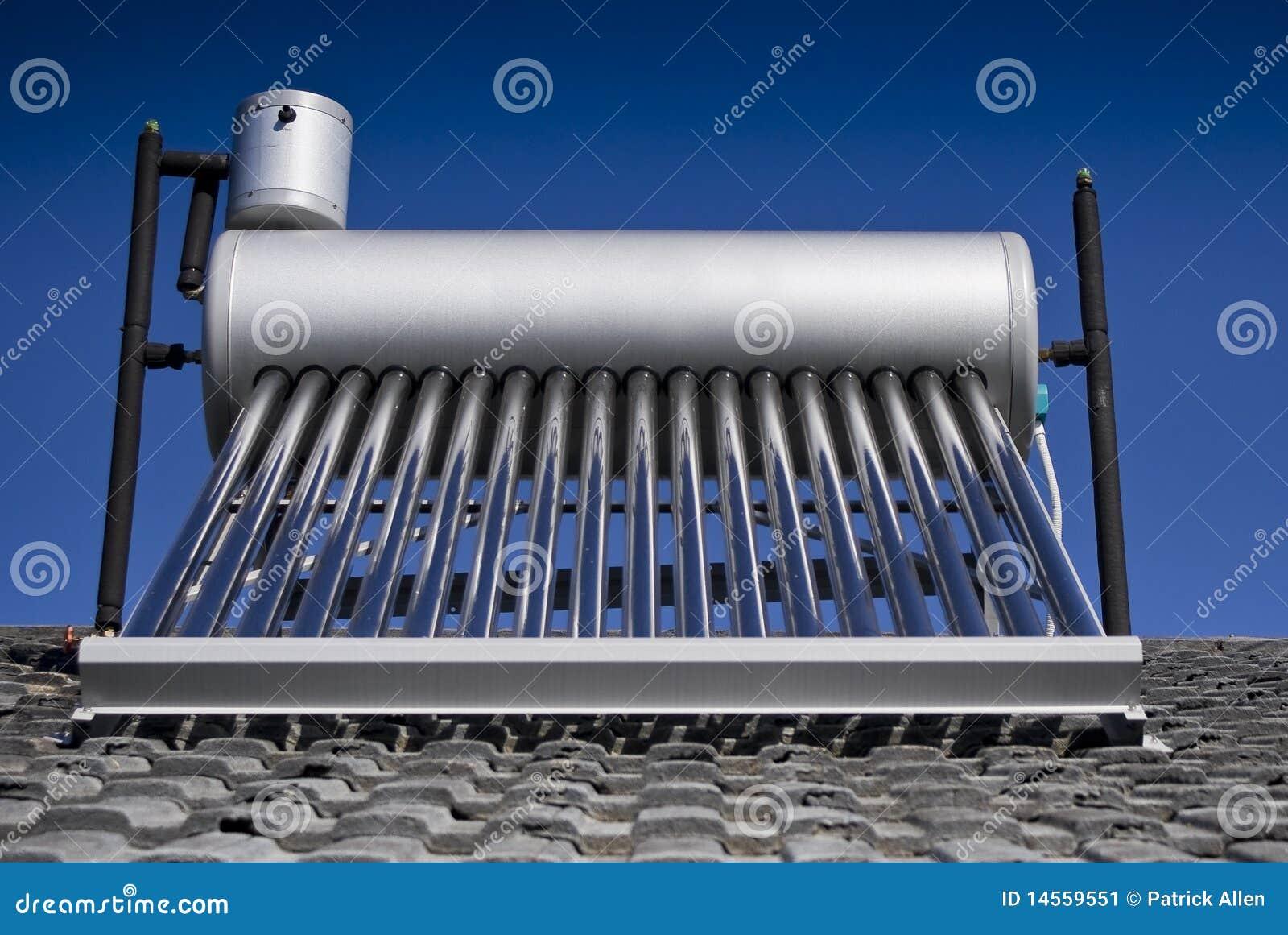 Calentador de agua solar tubos de cristal evacuados - Calentador de agua precios ...