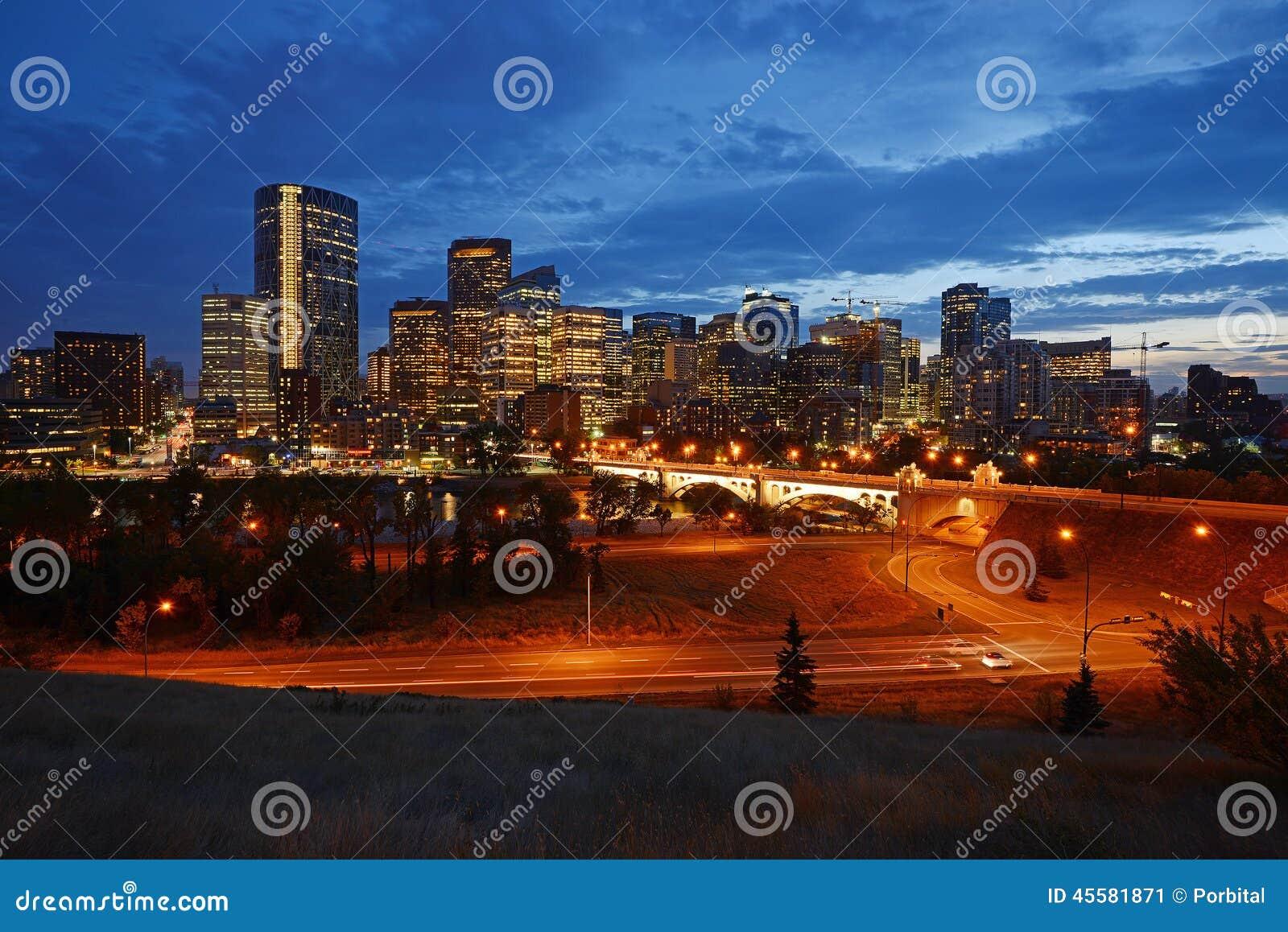 Calgary de stad in