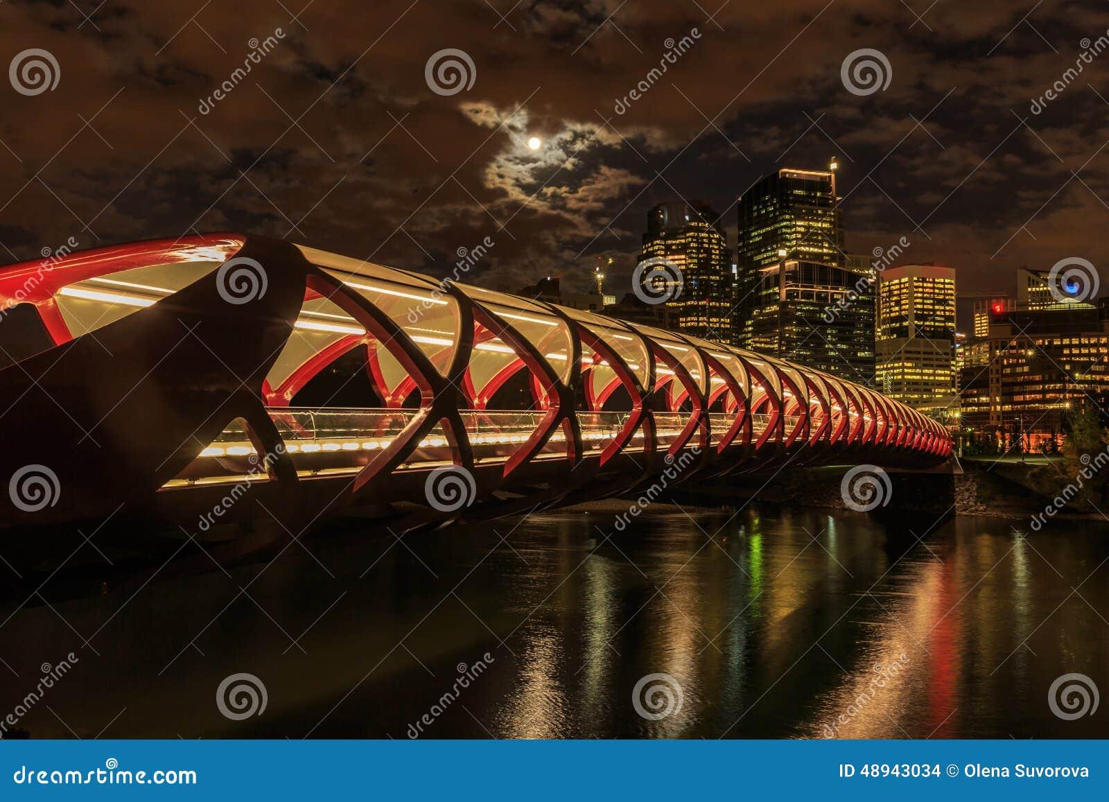 Calgary en la noche