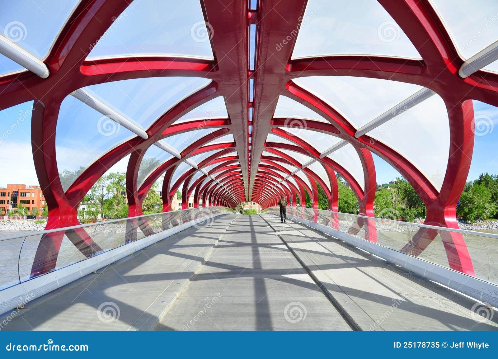 Calgary s Peace Bridge