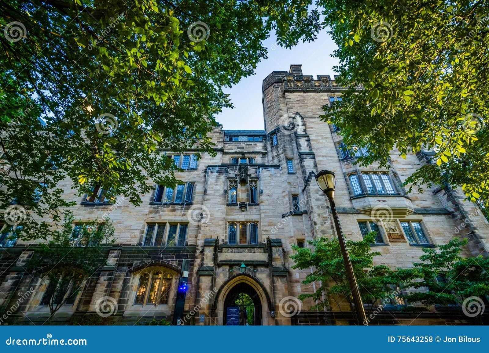 Calhoununiversiteit, op de campus van Yale University, in New Haven,
