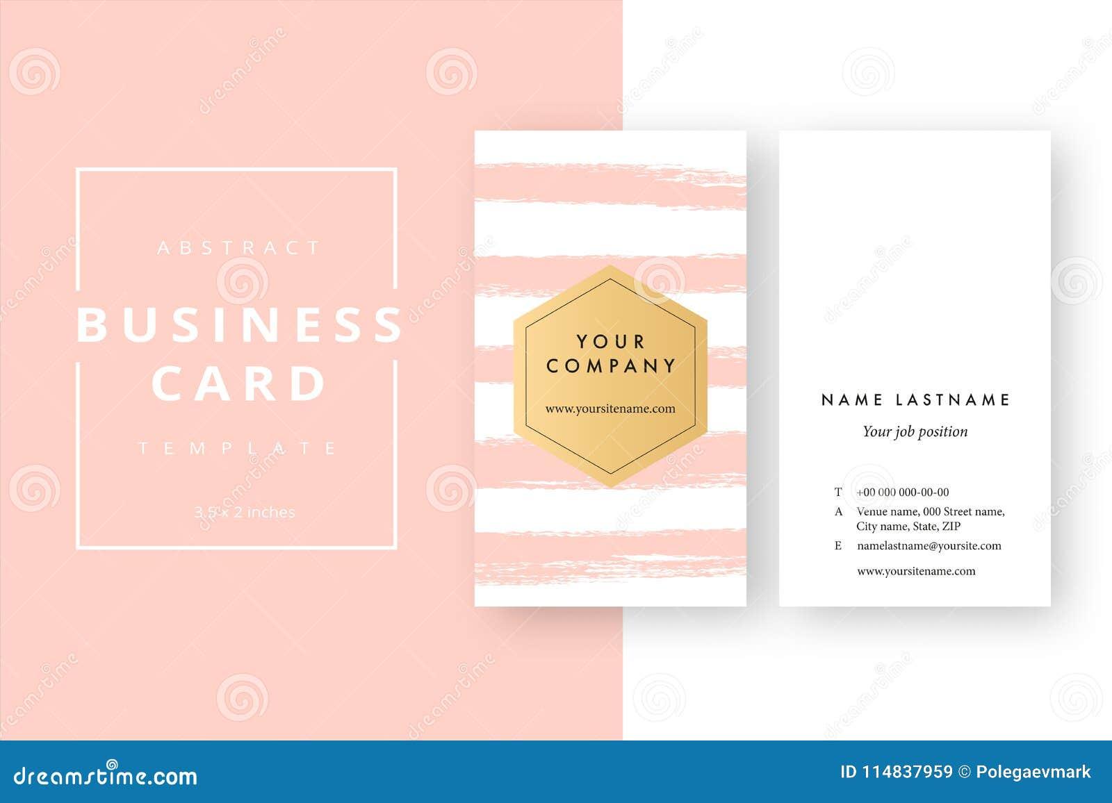 Calibre Abstrait Minimal La Mode De Carte Visite Professionnelle Corporation Moderne