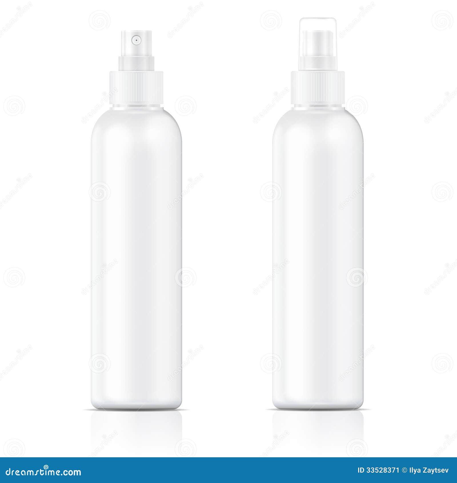 Calibre blanc de bouteille de pulvérisateur.