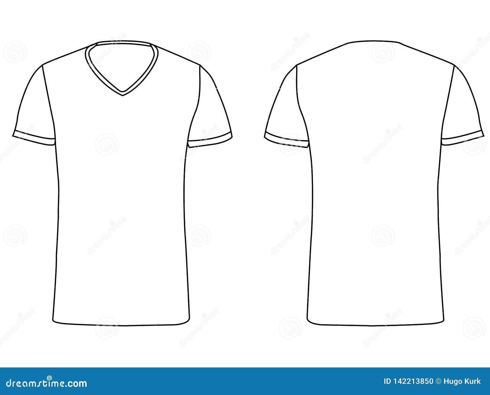 Calibre blanc de T-shirt