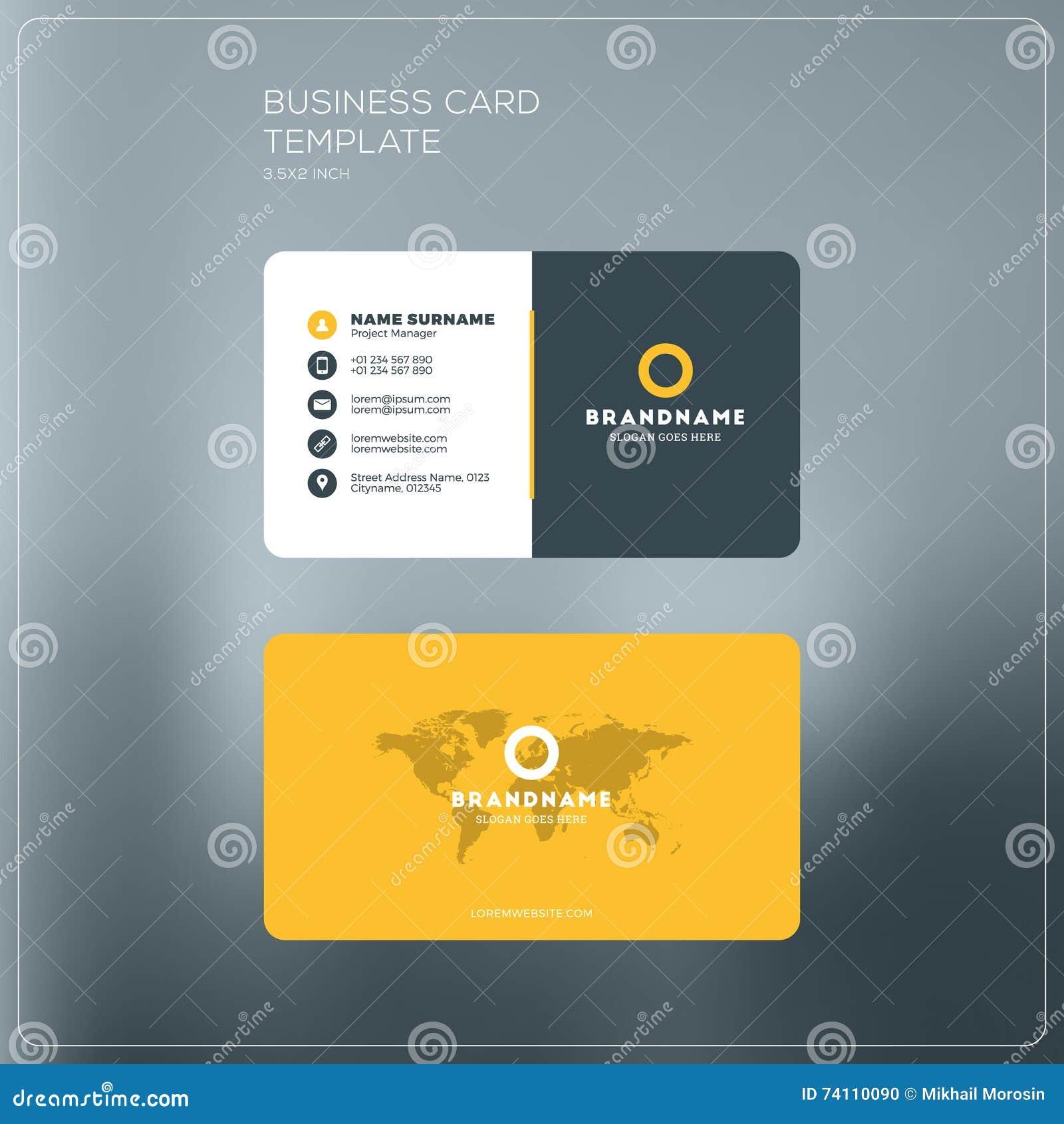 Calibre D Impression De Carte D Entreprise Constituee En Societe