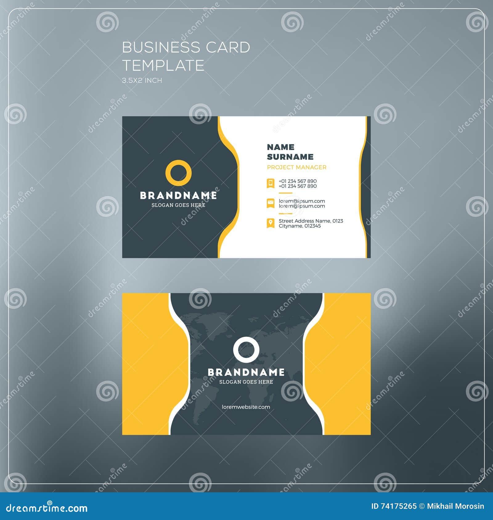 Calibre D Impression De Carte Entreprise Constitue En Socit Visite Personnelle